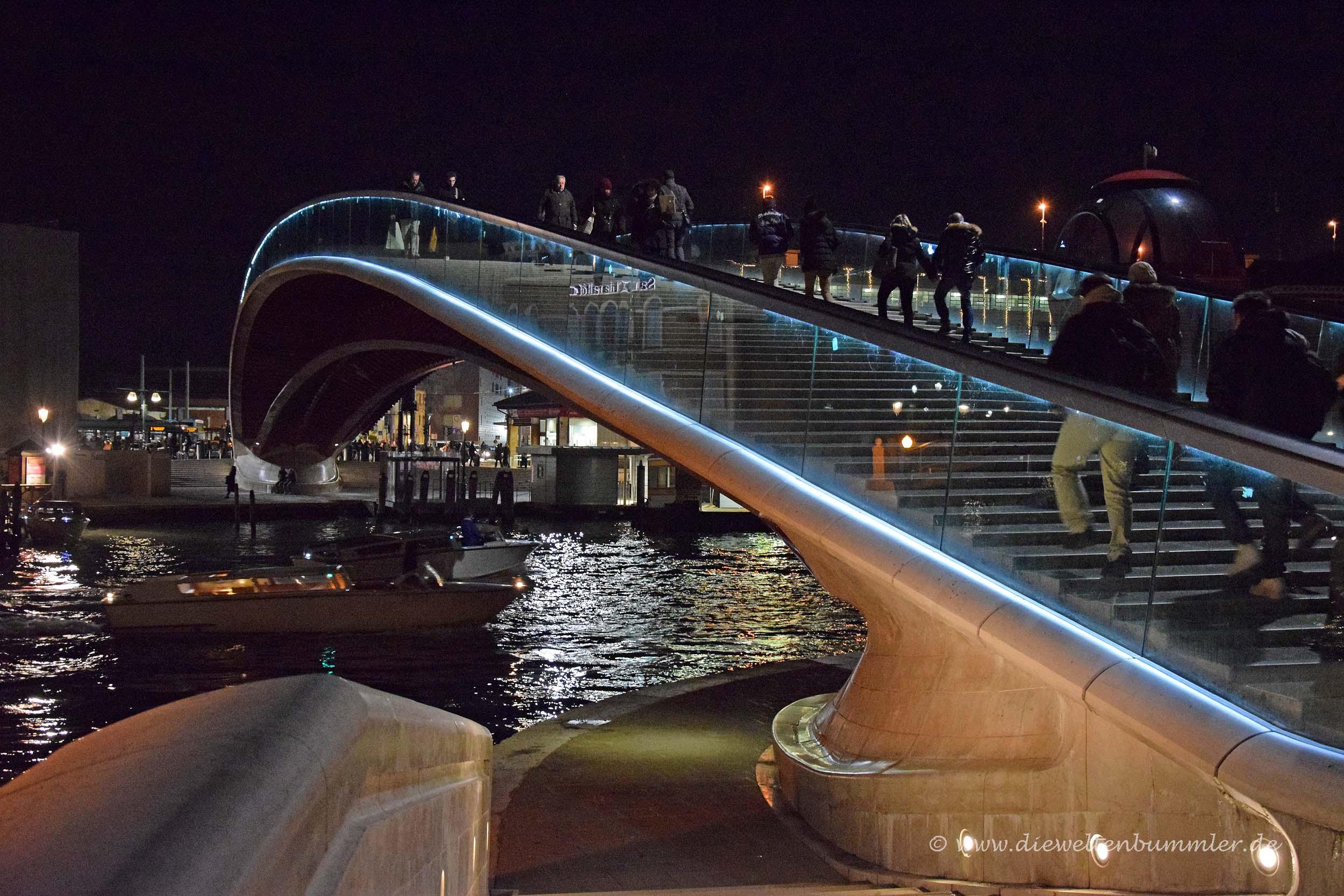 Brücke von Calatrava in Venedig