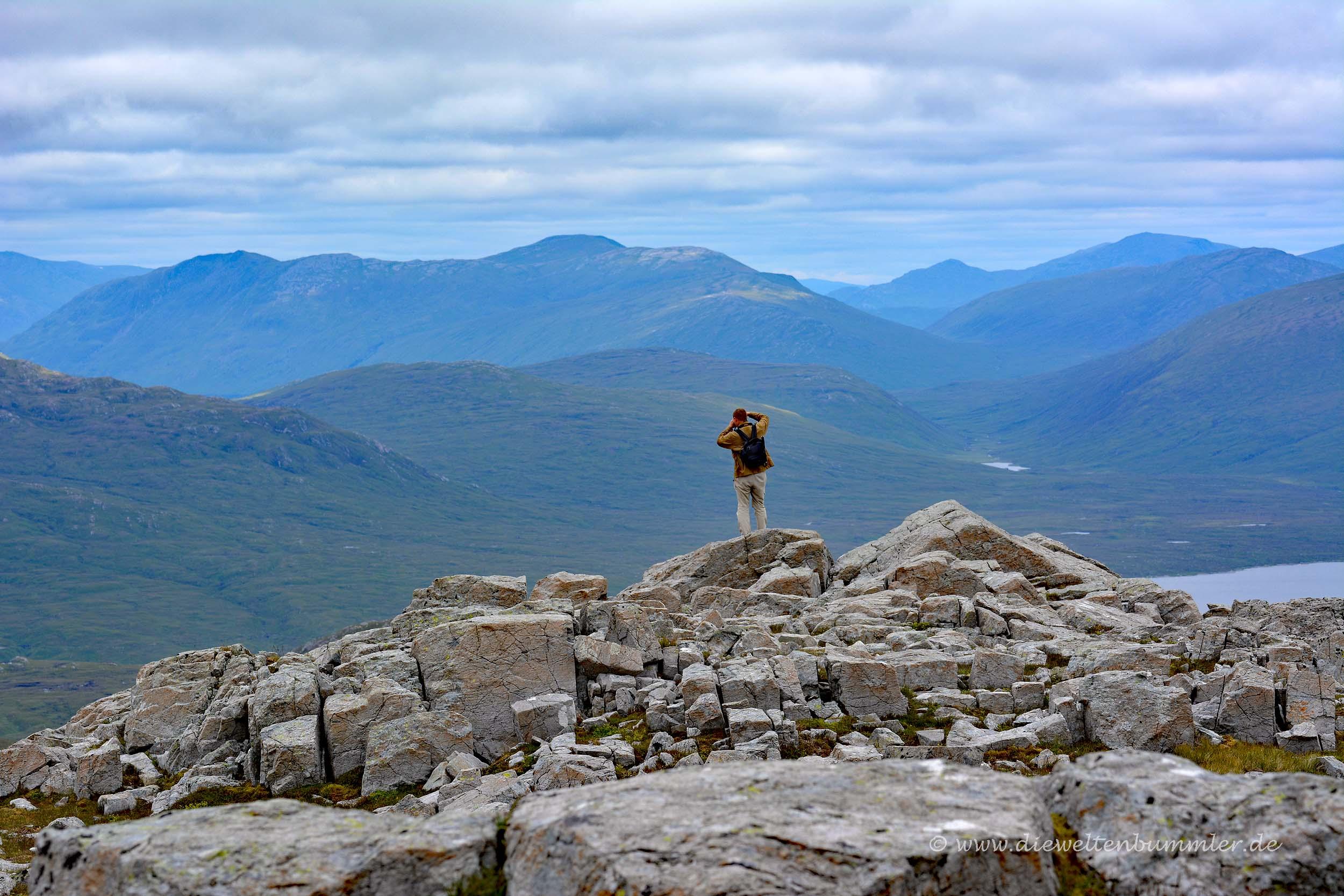 Gipfel des Munros