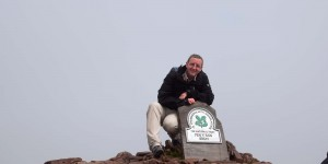 Michael Moll am Pen y Fan