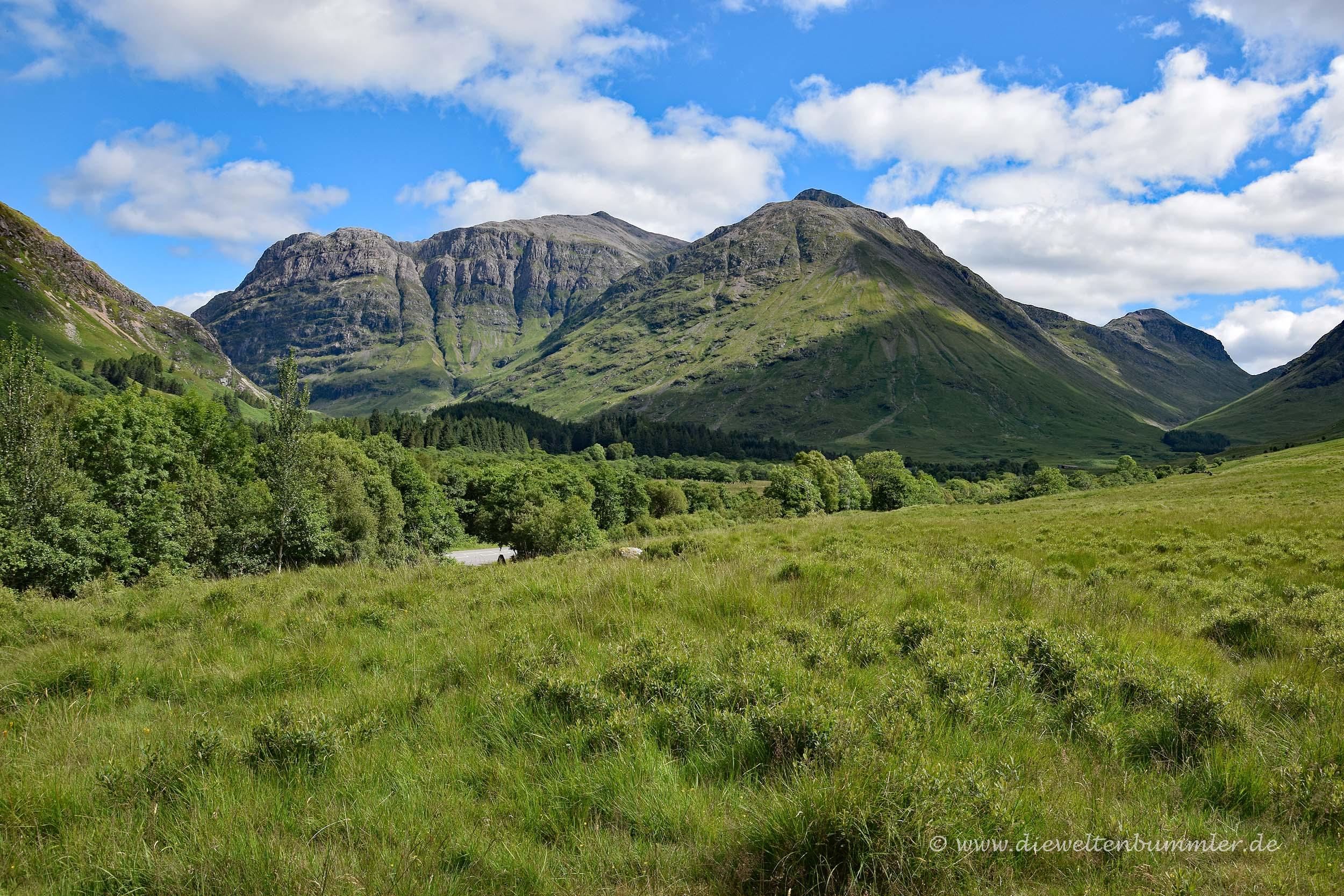 Munros im Glen Coe