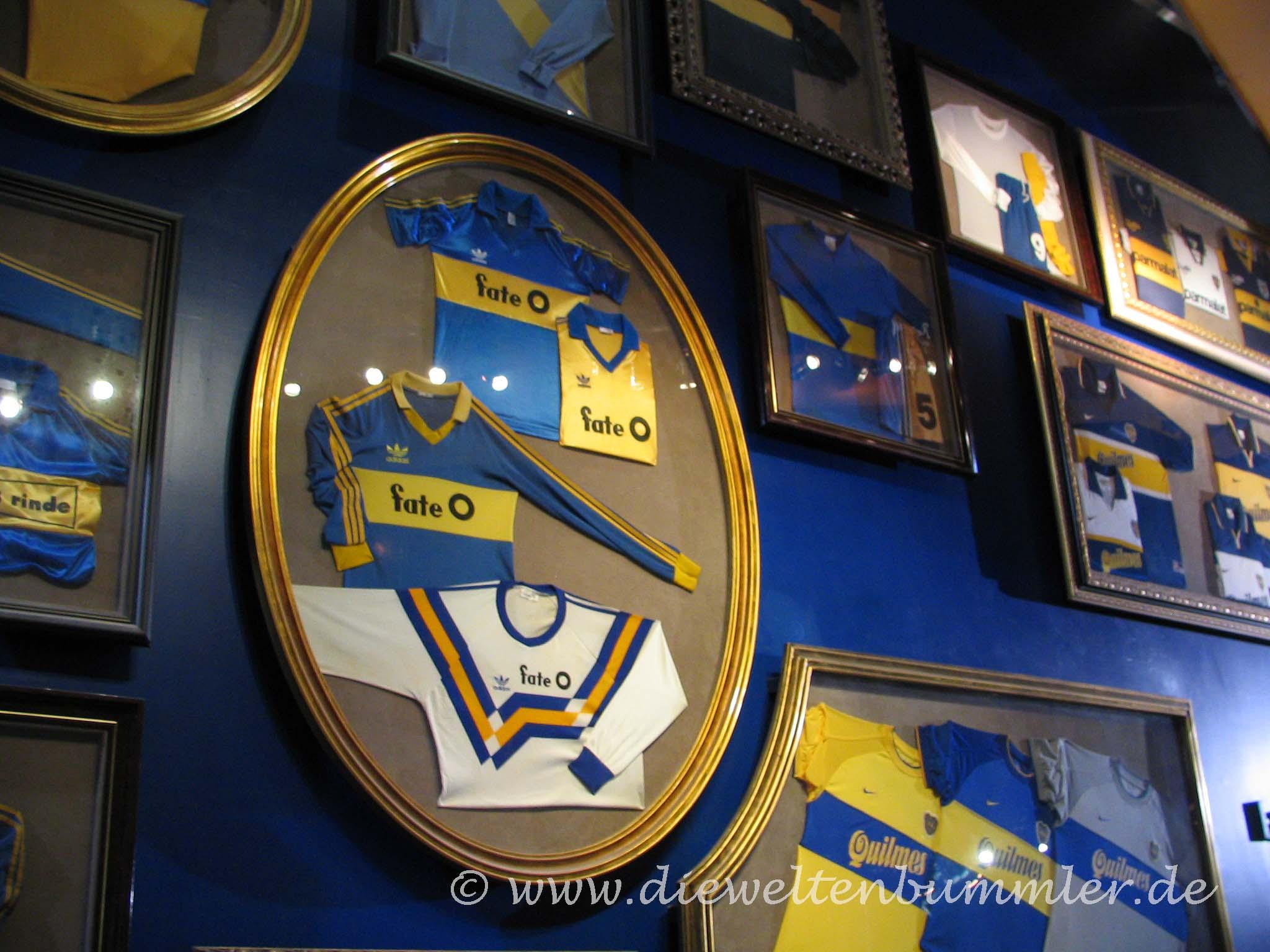 Museum im Stadion von La Boca