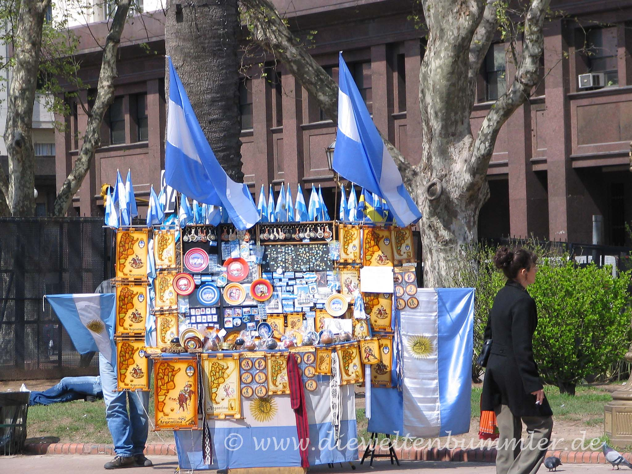 Souvenirstand in Buenos Aires