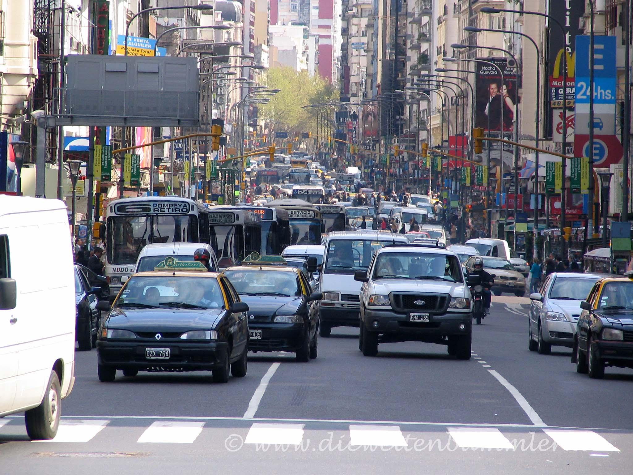 Verkehr in Buenos Aires