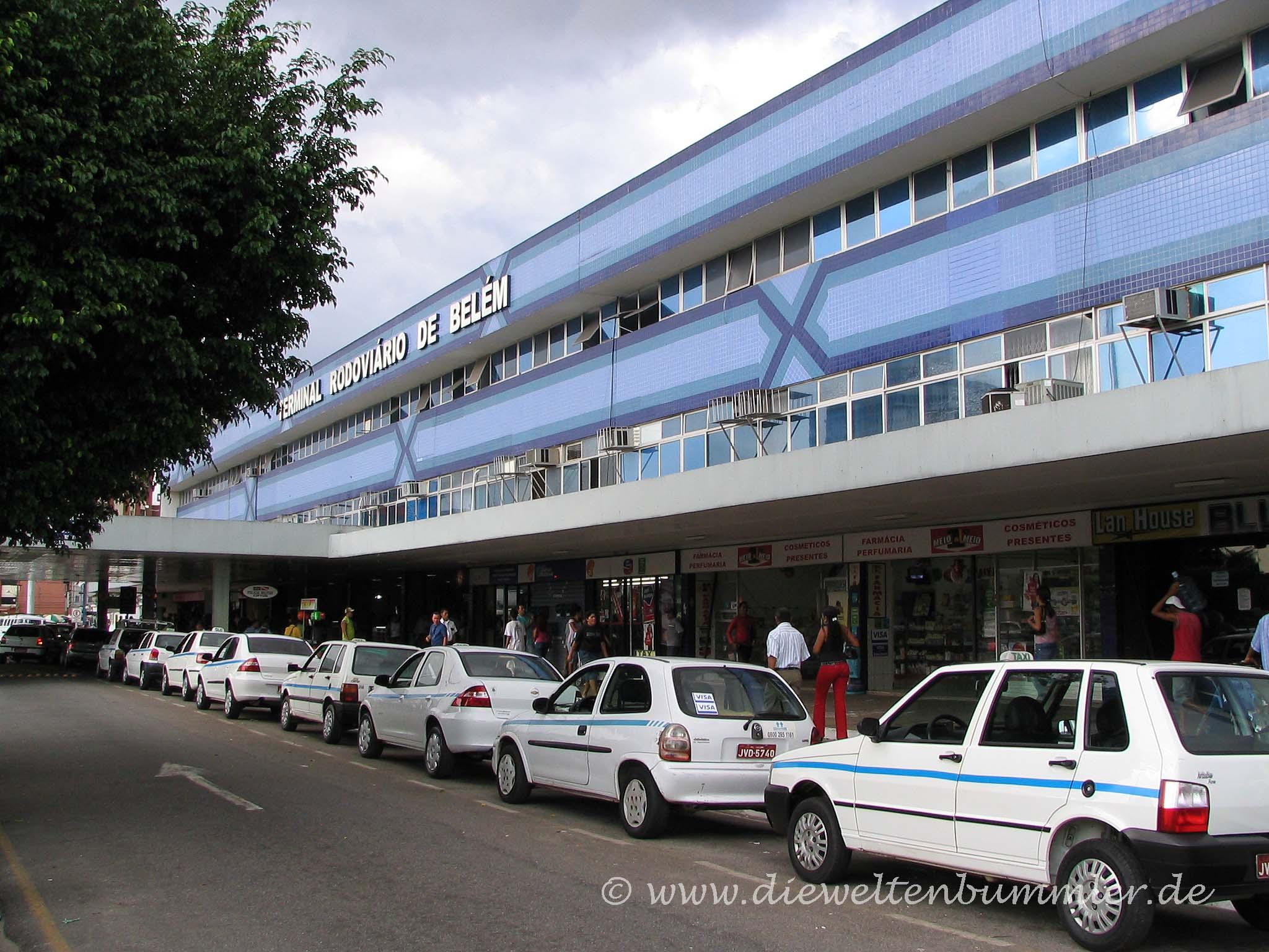 Busbahnhof in Belem