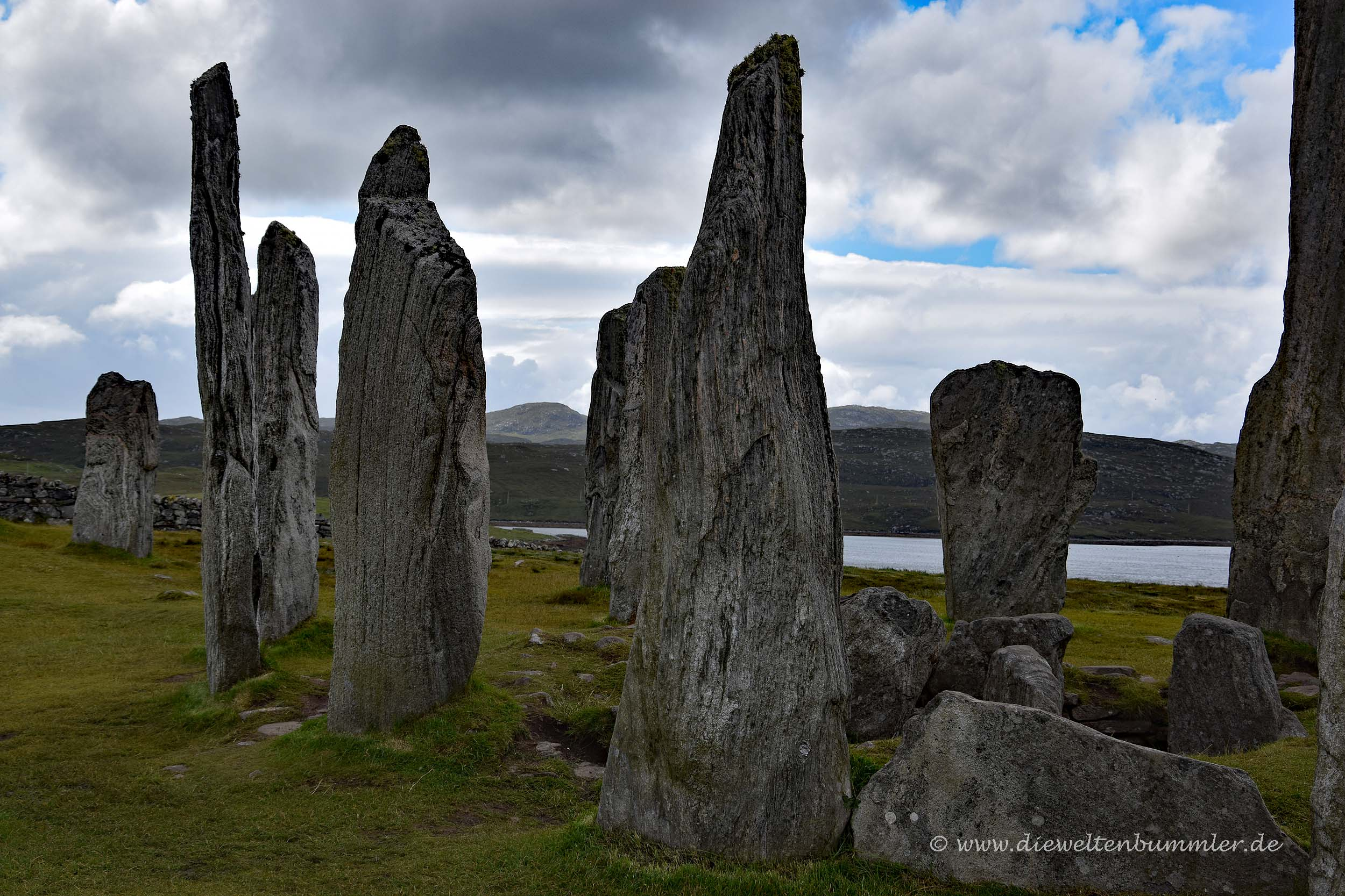 Callanish-Stones auf den Hebriden