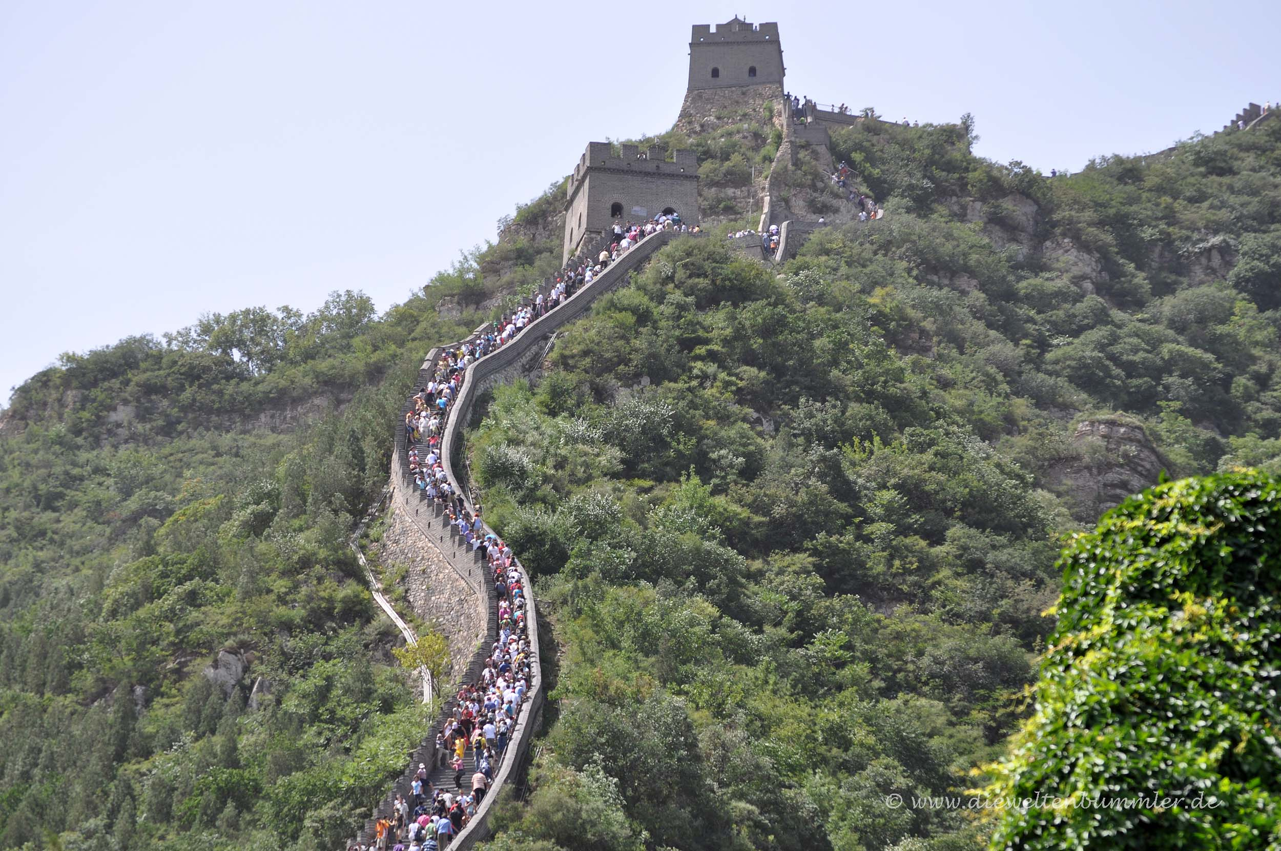 Chinesische Mauer in Badaling