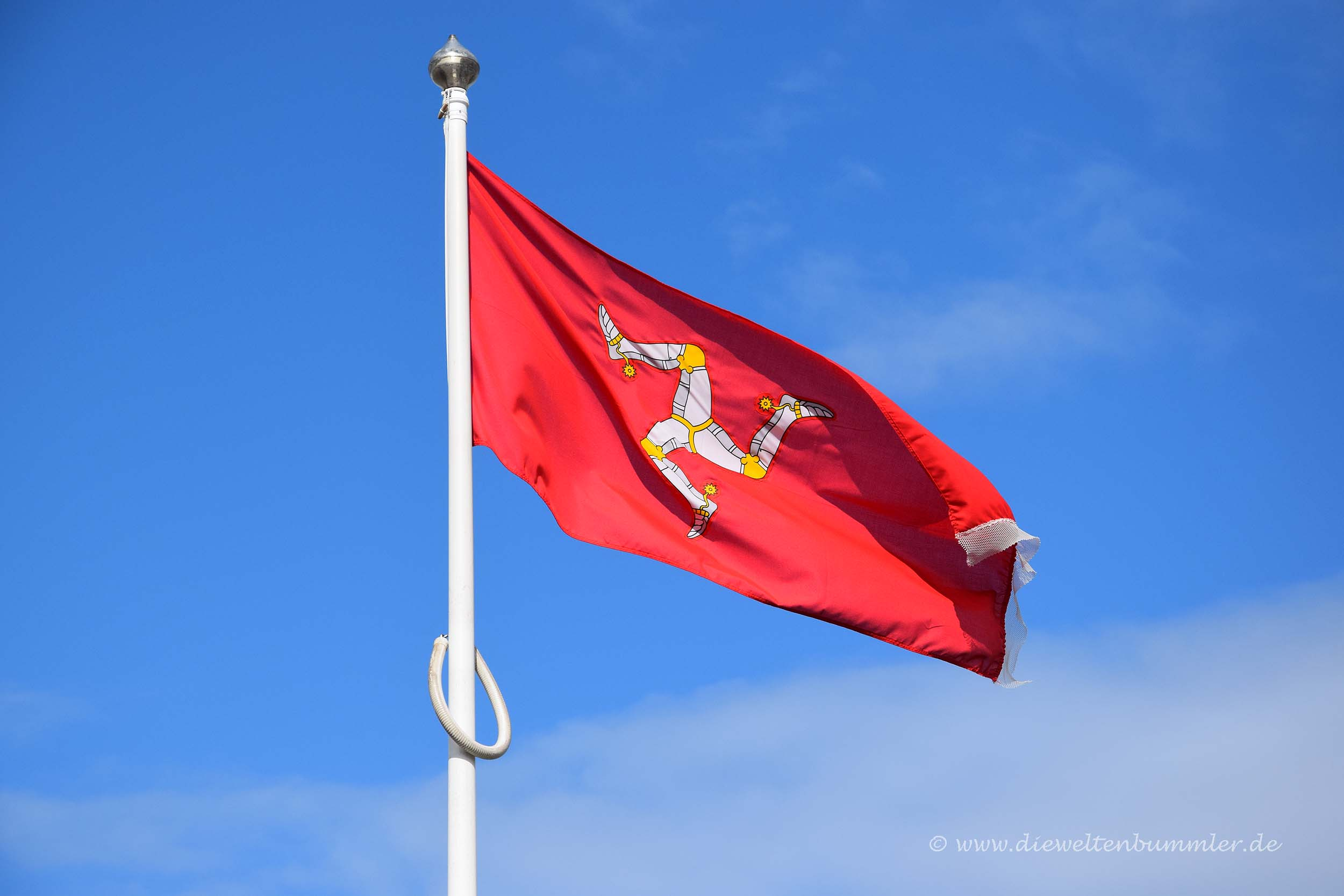 Flagge der Isle of Man