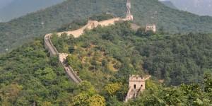 Besuch an der chinesischen Mauer