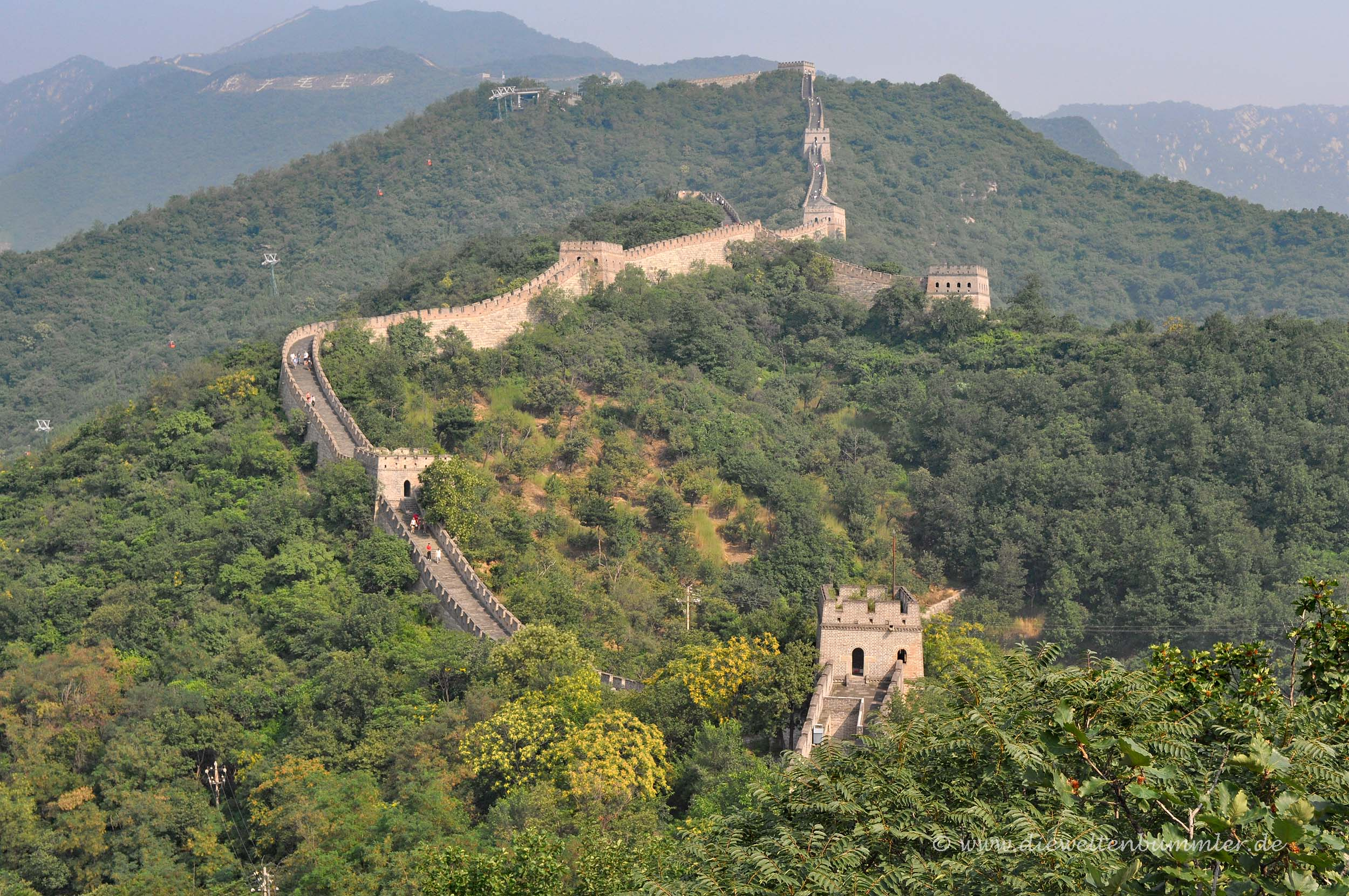 Great Wall of China in Mutianyu