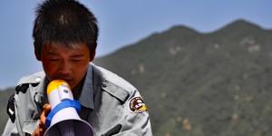 In Badaling werden die Touristenströme gelenkt
