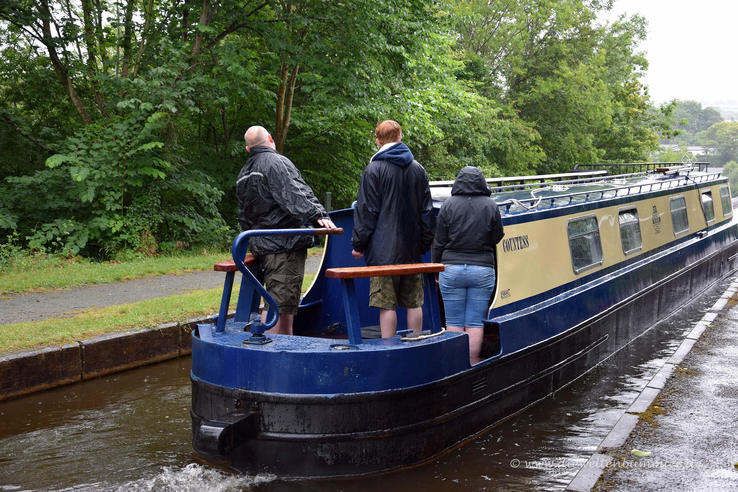 Klassisches Narrowboat