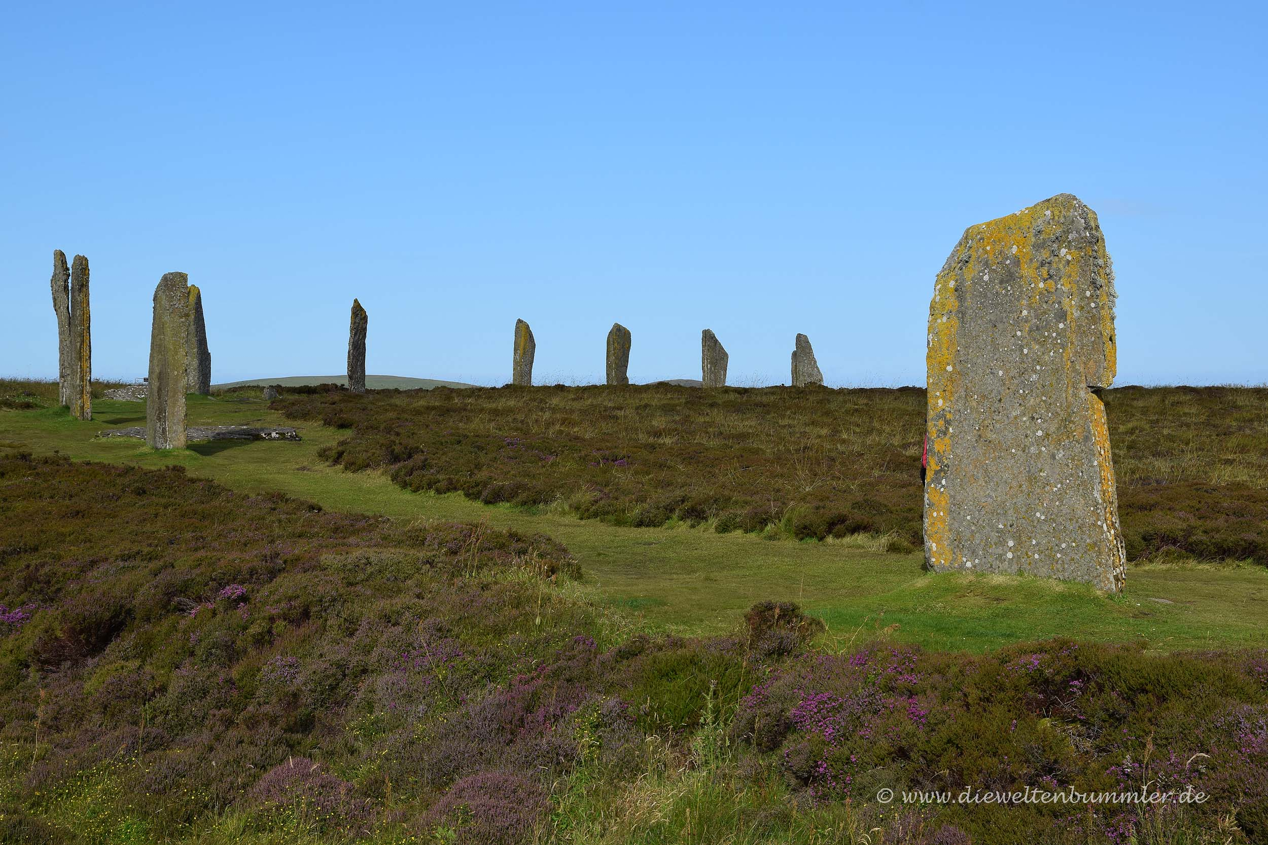 Megalithen vom Ring of Brodgar