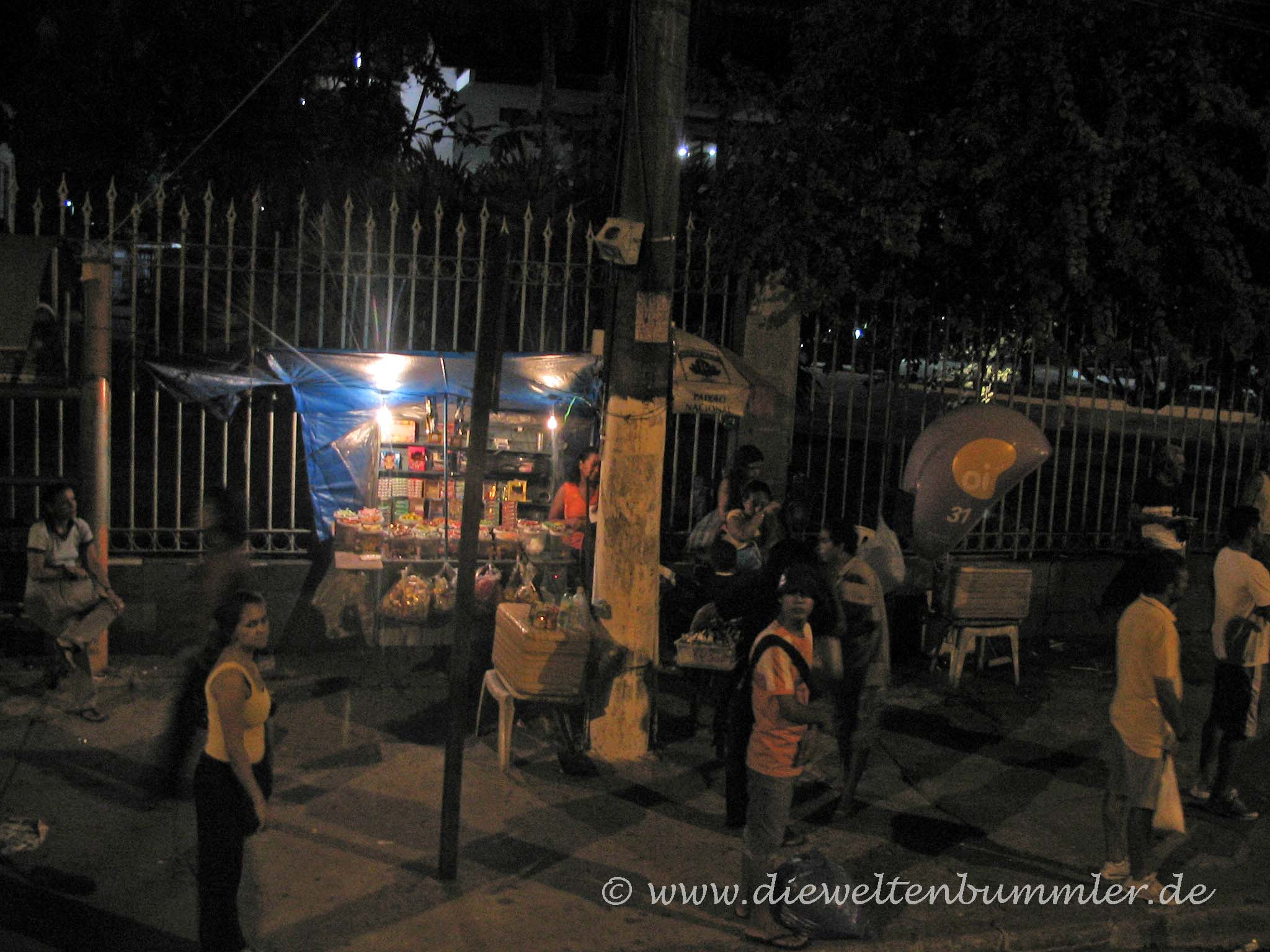Nachts in Brasilien