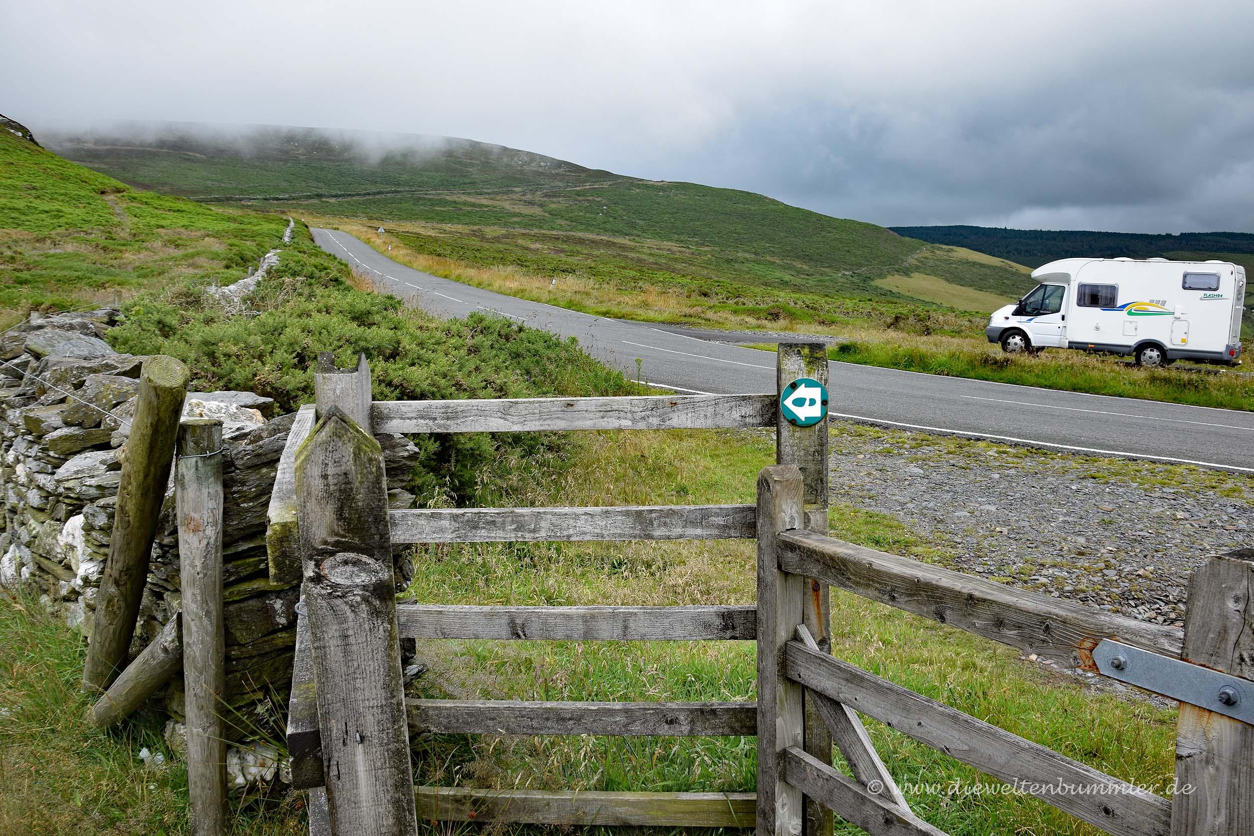 Parken und Wandern
