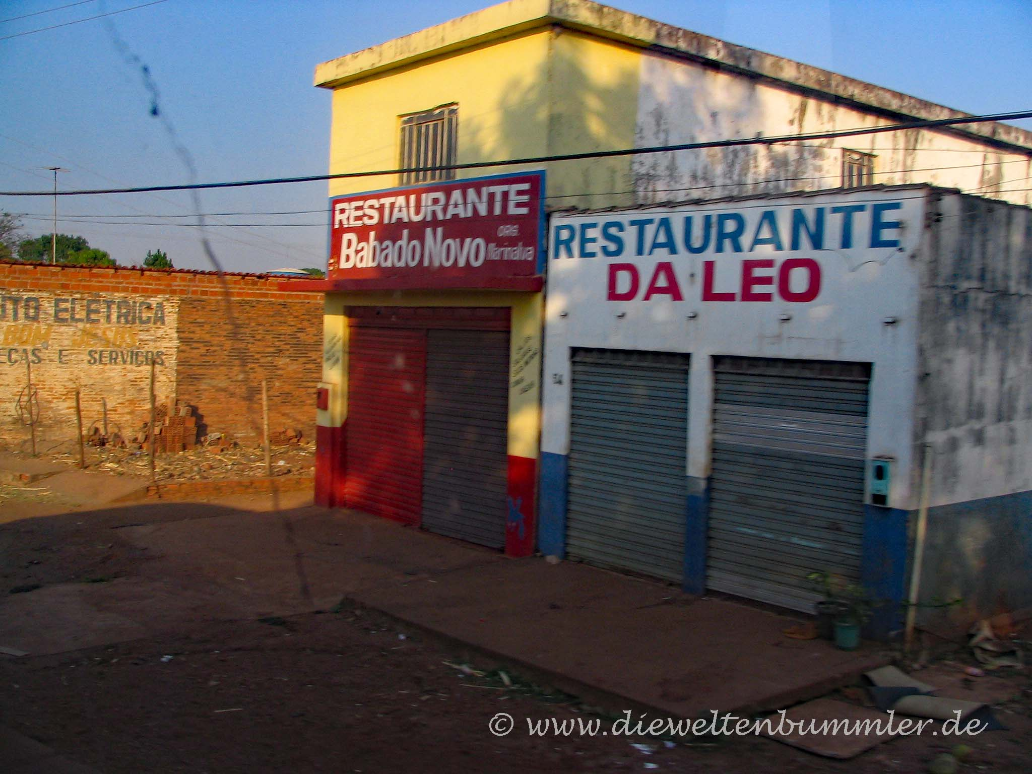 Restaurant in Brasilien