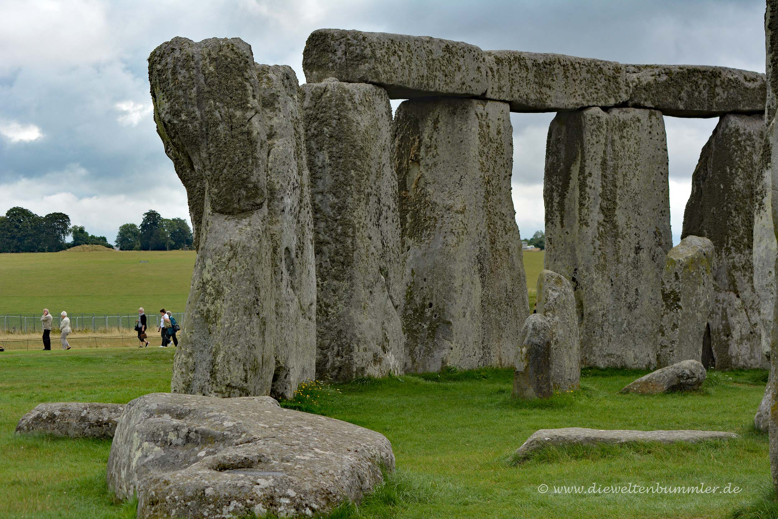 Trillithen beim Stonehenge