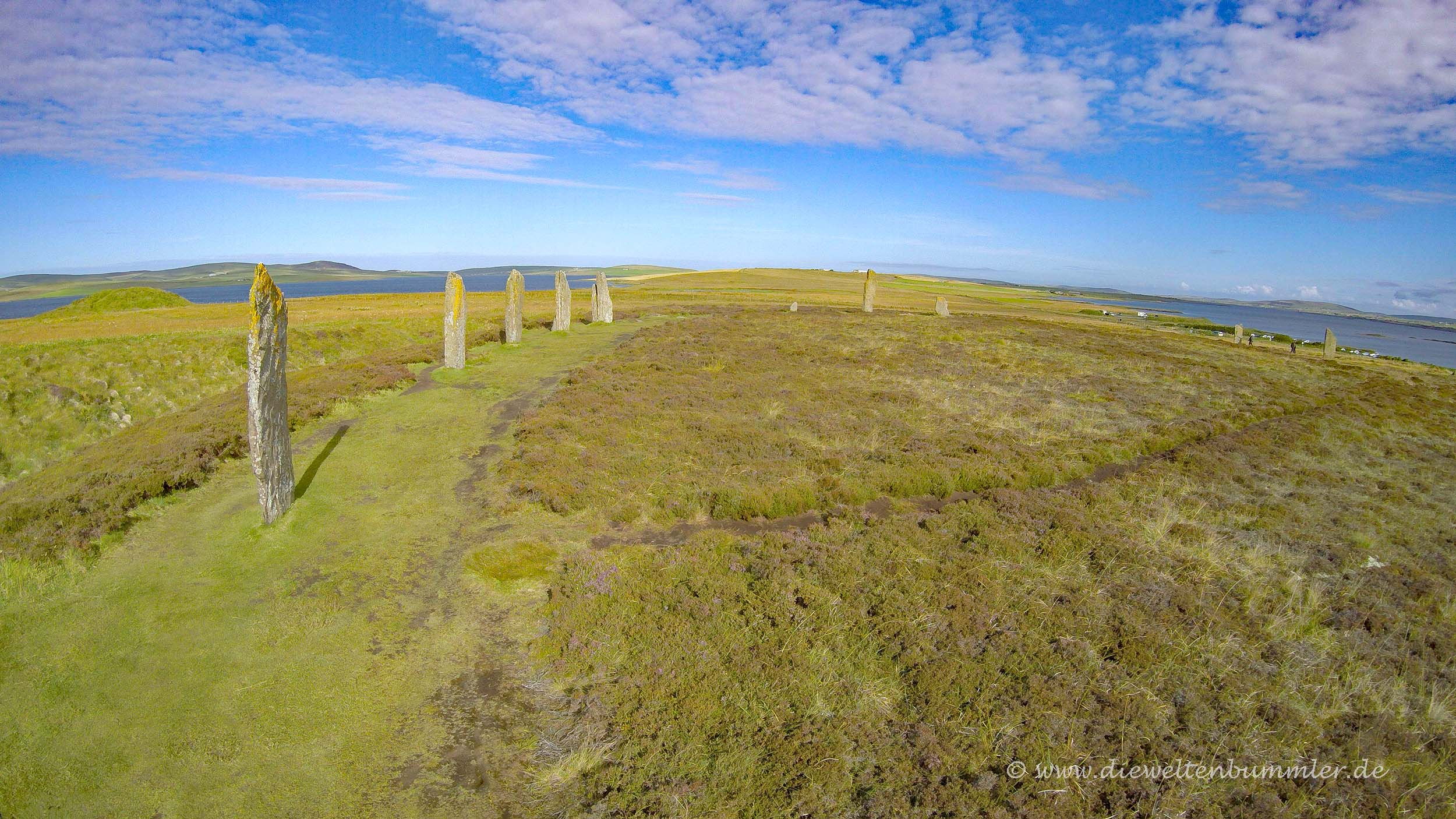 Unesco-Welterbe Ring of Brodgar