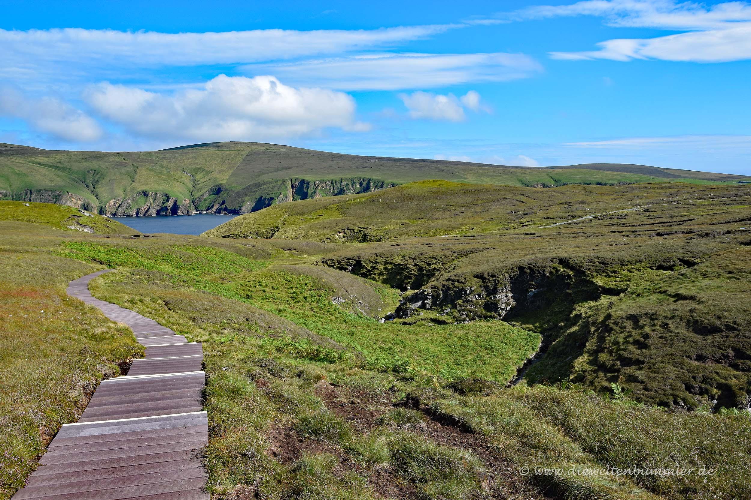Wanderweg durch das Naturreservat