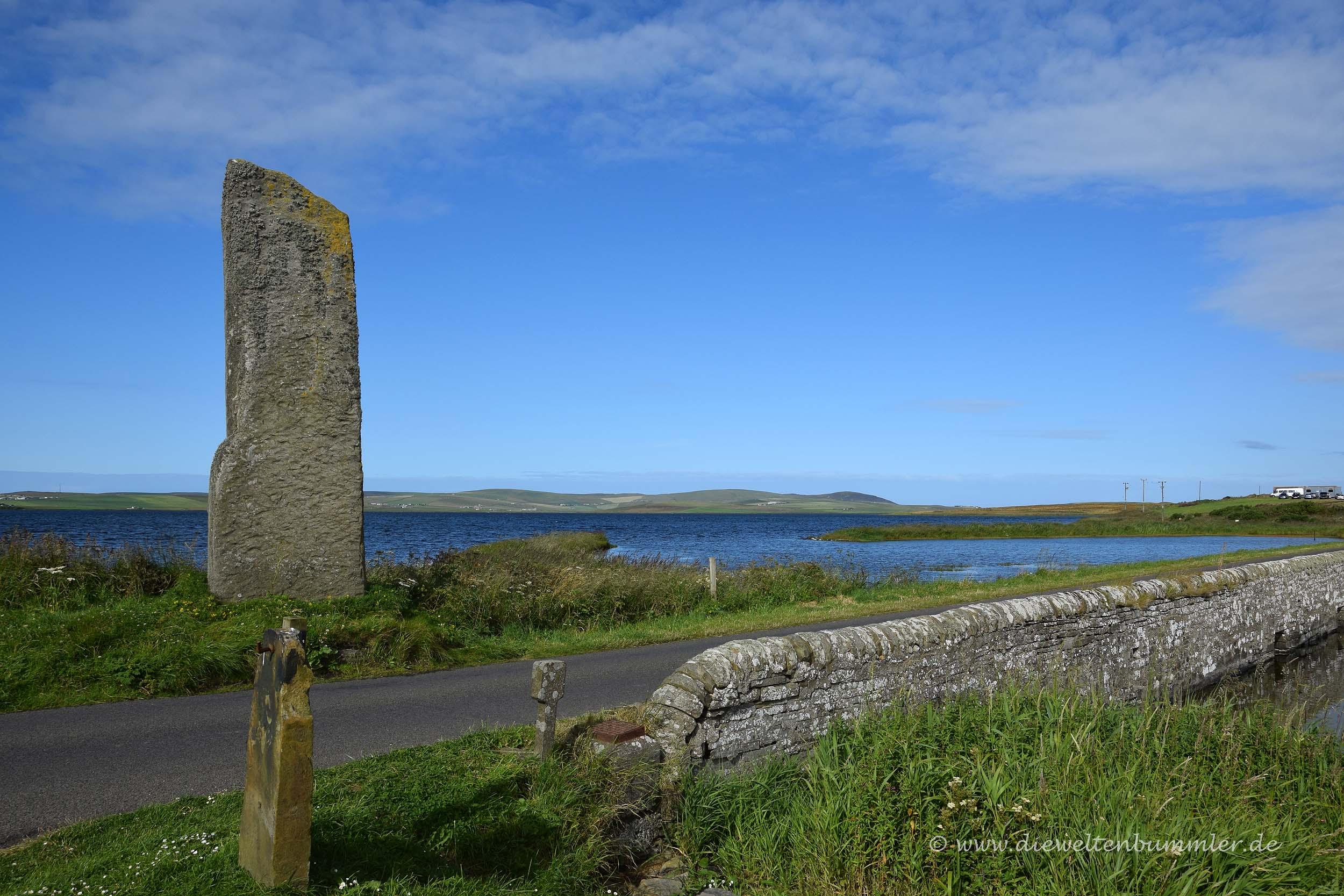Watch Stone auf den Orkney-Inseln