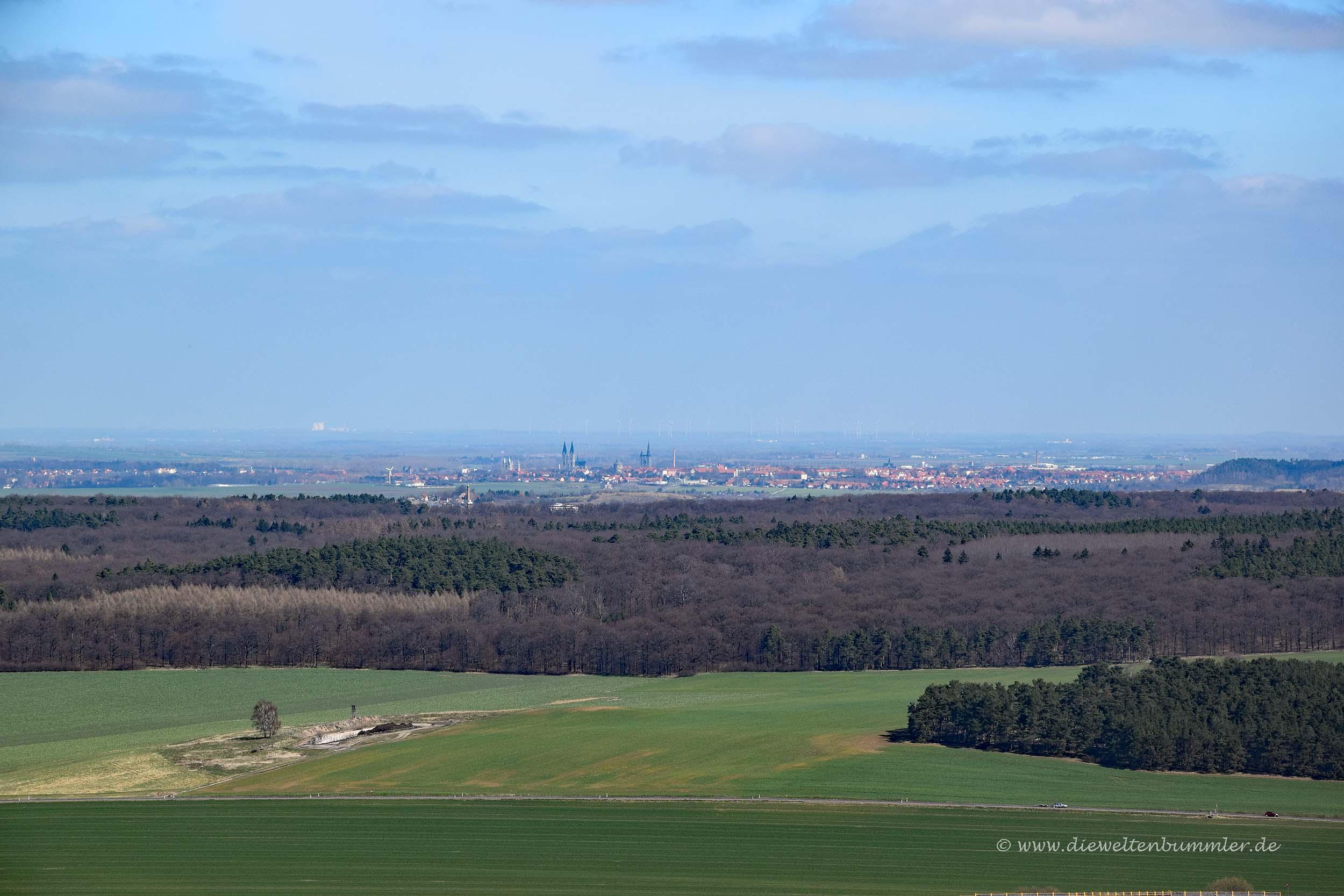 Ausblick bis Halberstadt