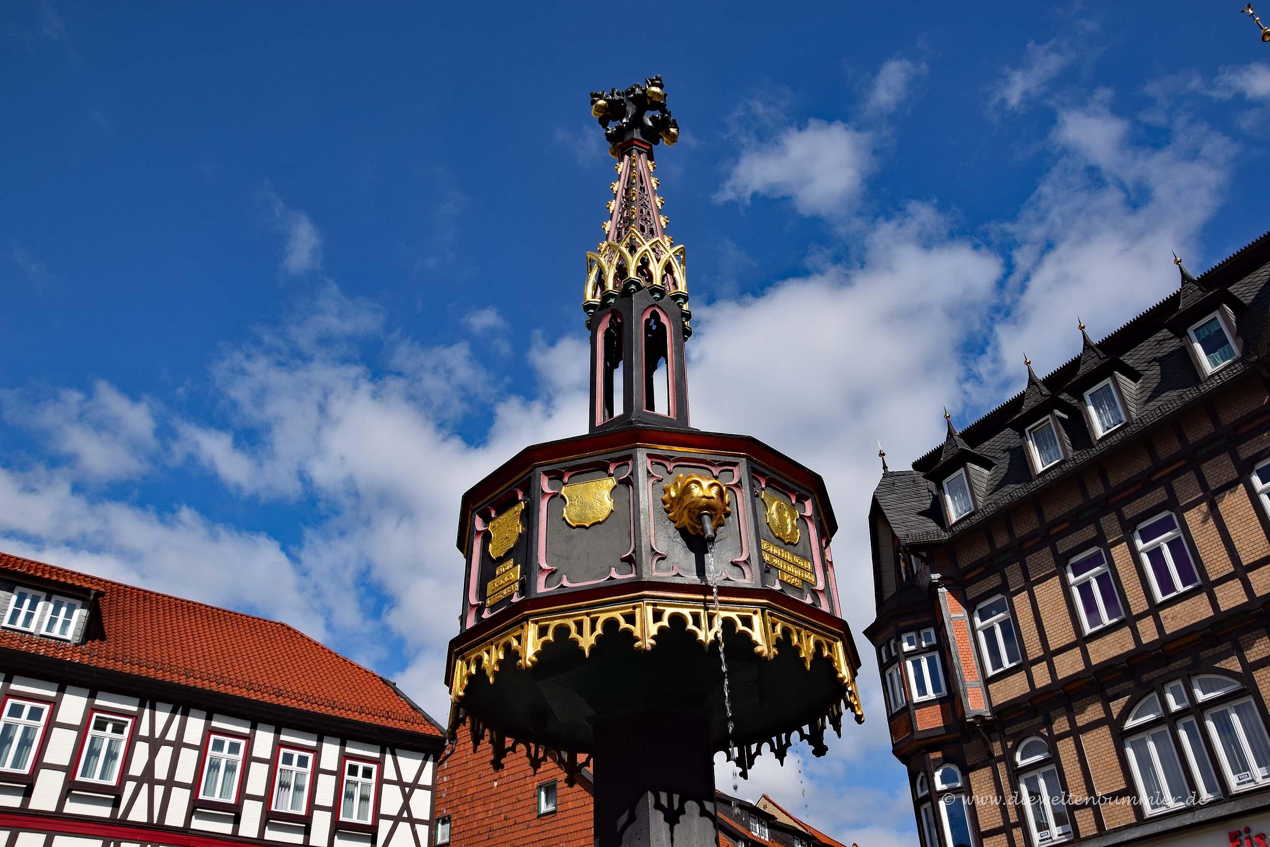 Brunnen in Wernigerode