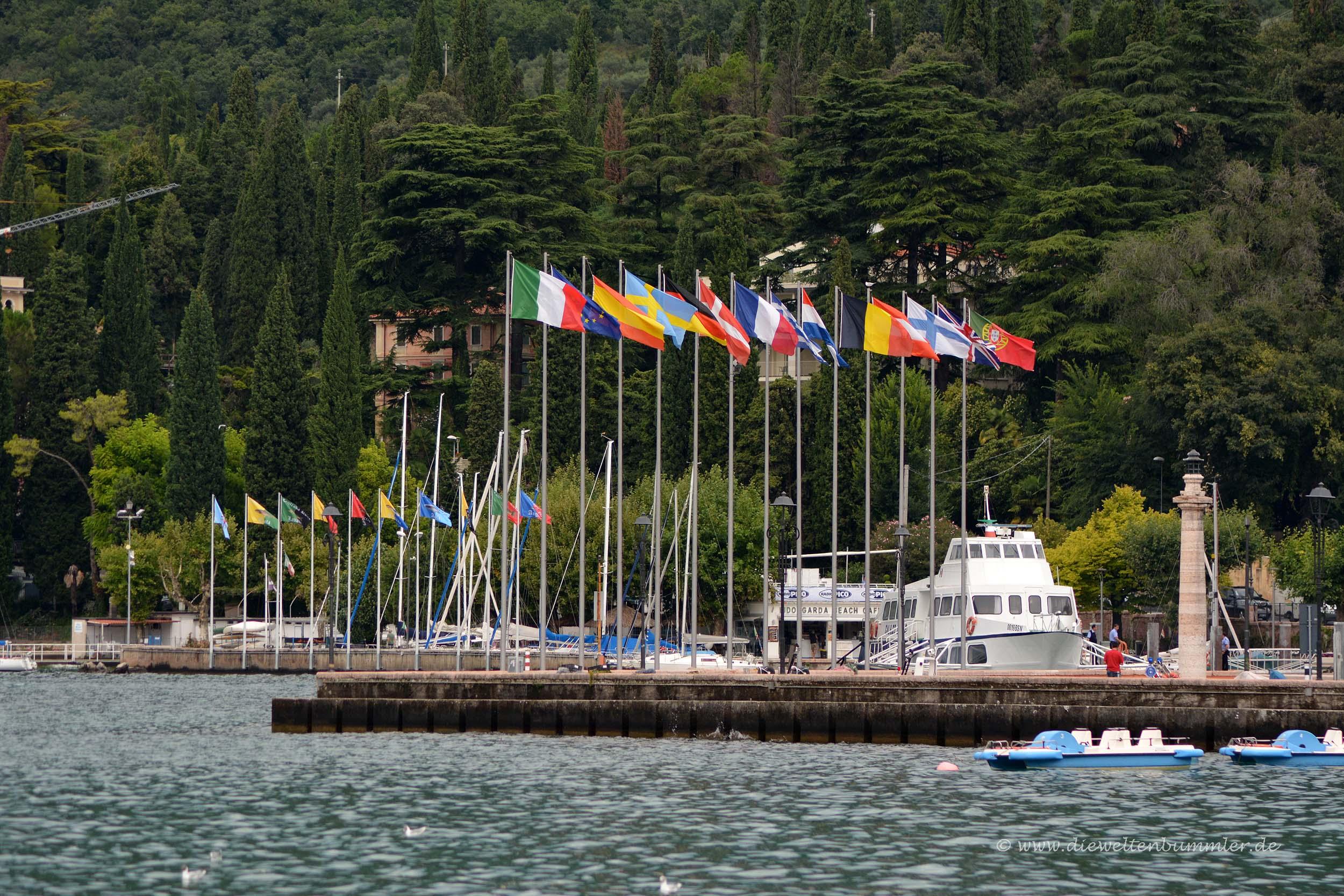 Hafen von Garda
