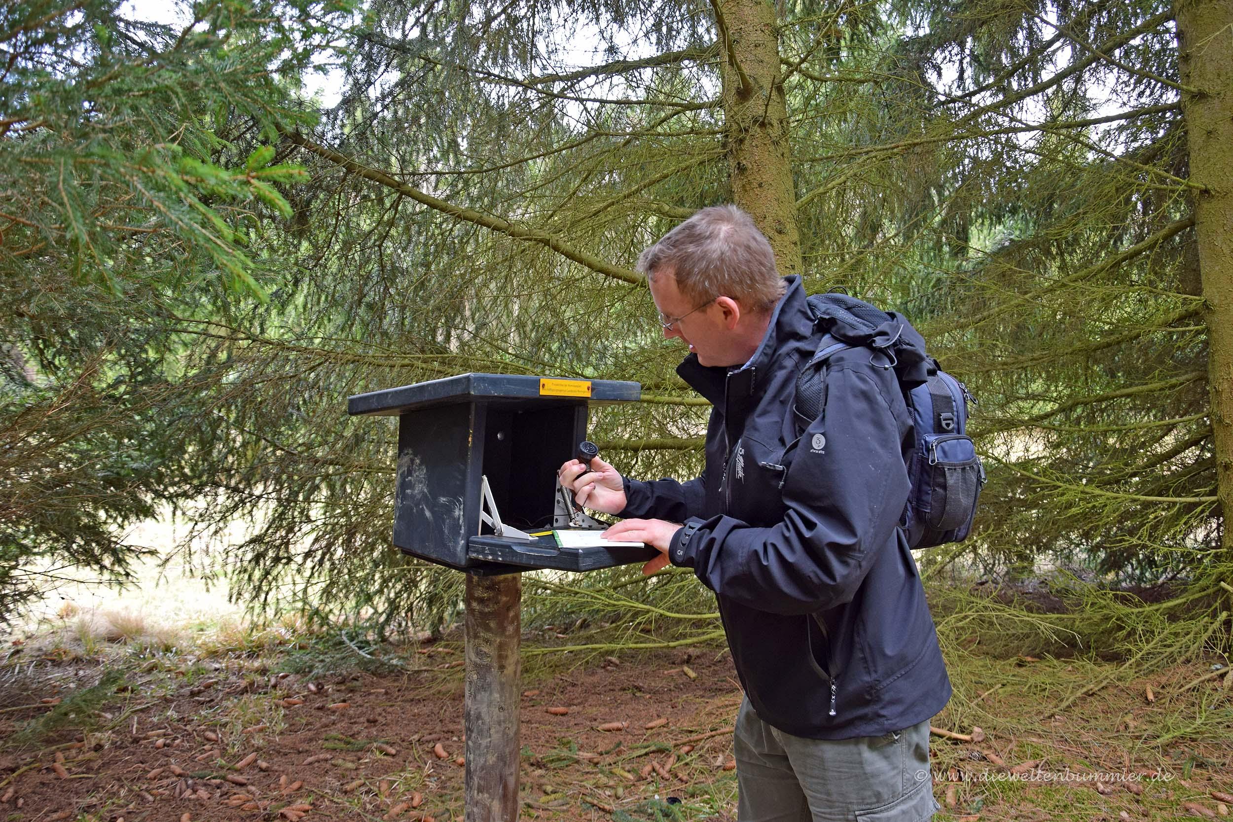 Michael Moll im Harz