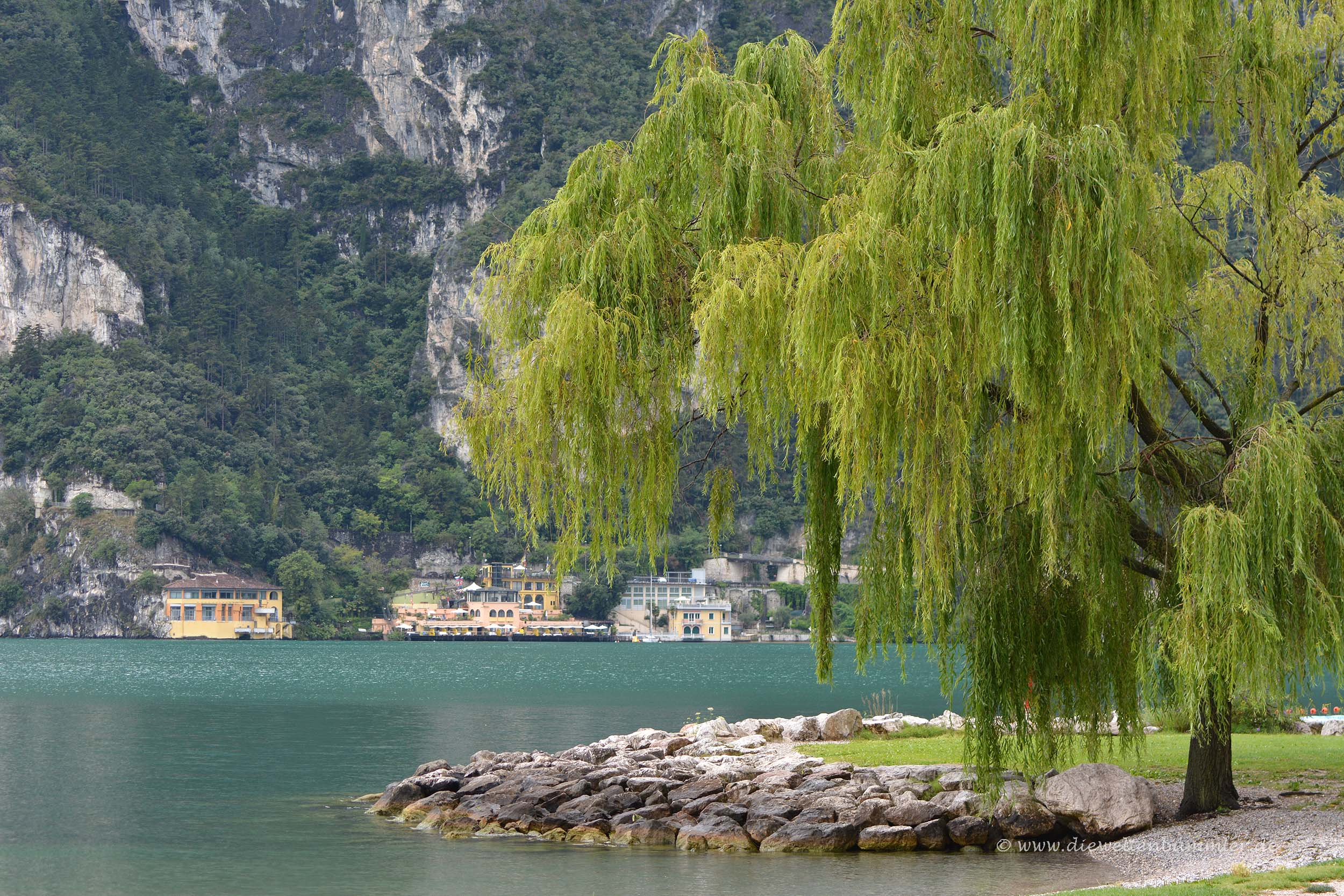 Nordufer bei Riva del Garda
