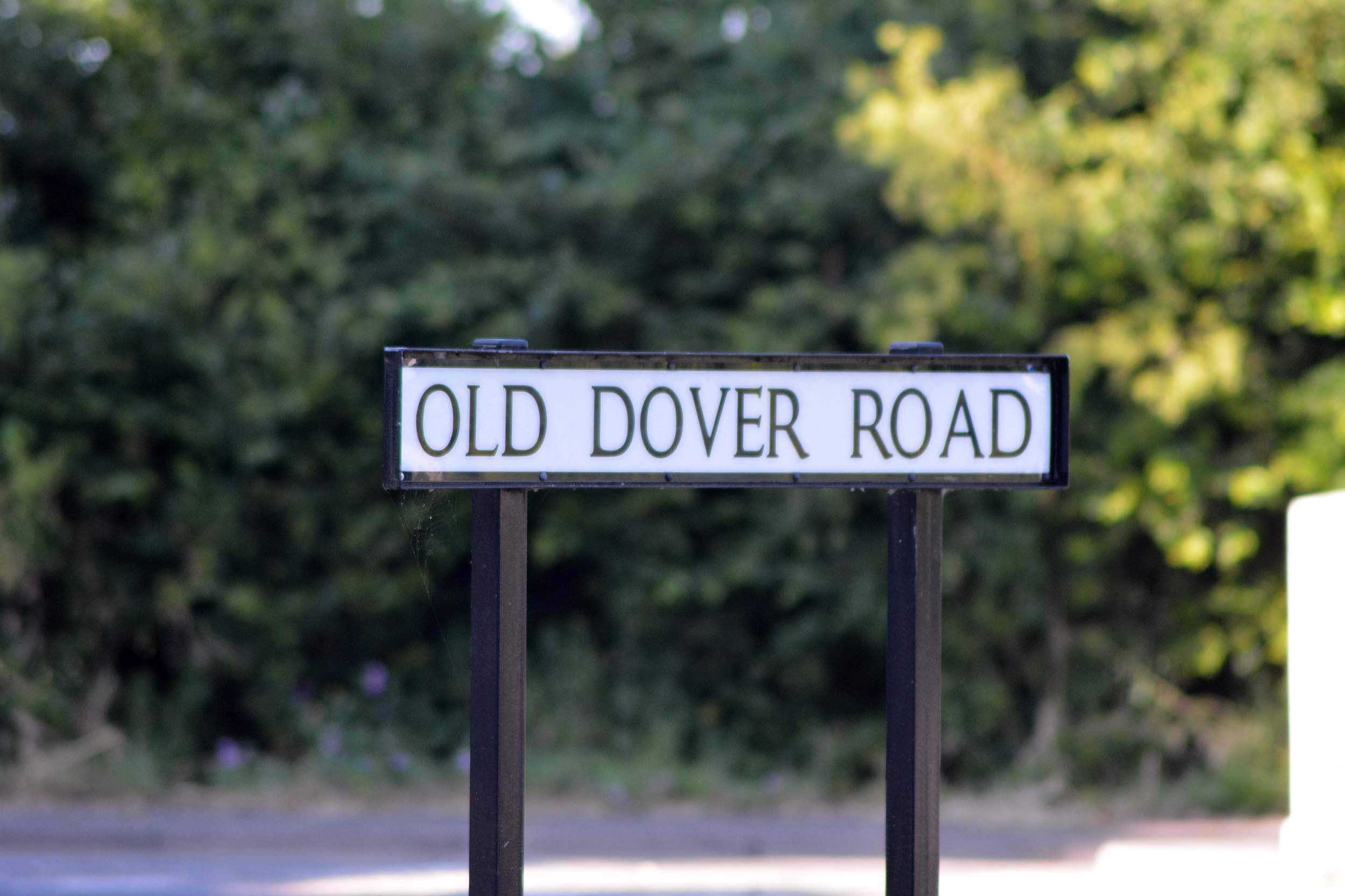 Old Dover Road in Canterbury