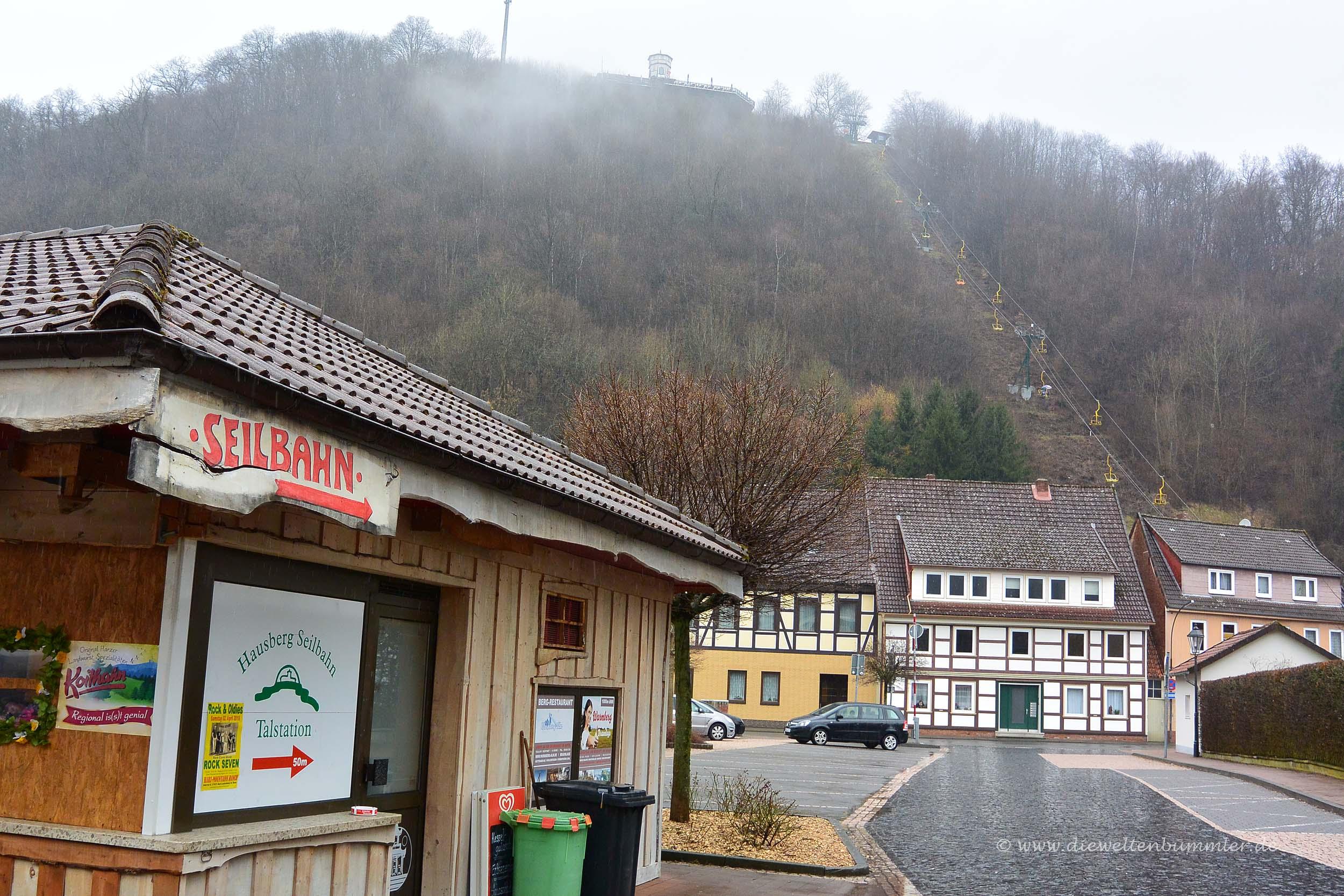 Schlechtes Wetter in Bad Lauterberg