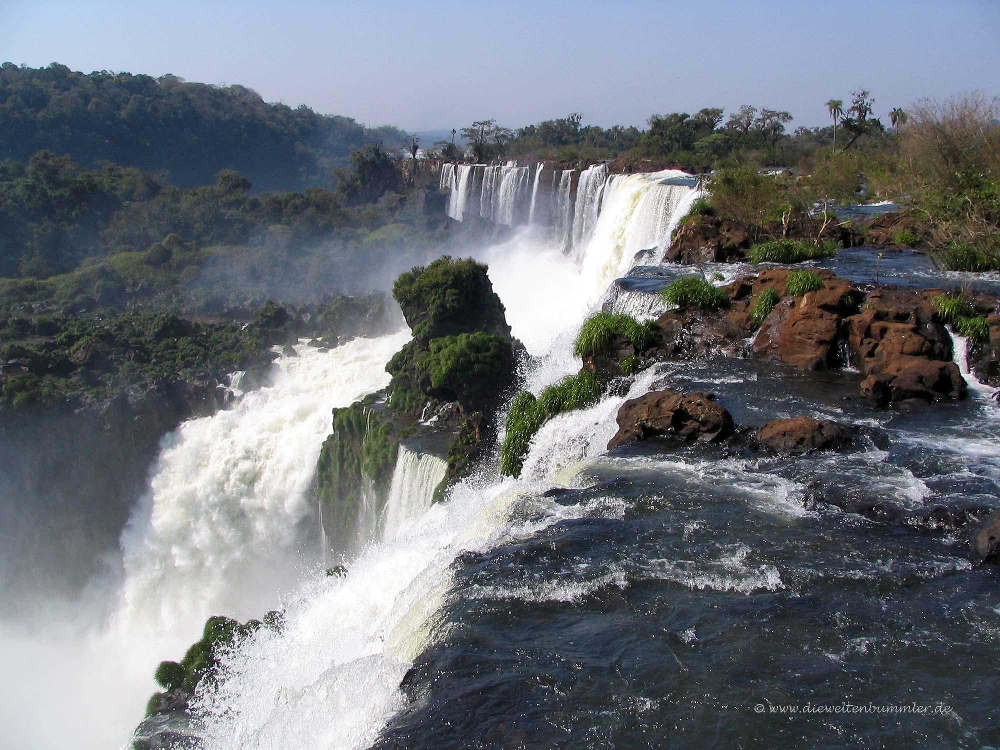 Wasserfall in Iguazu