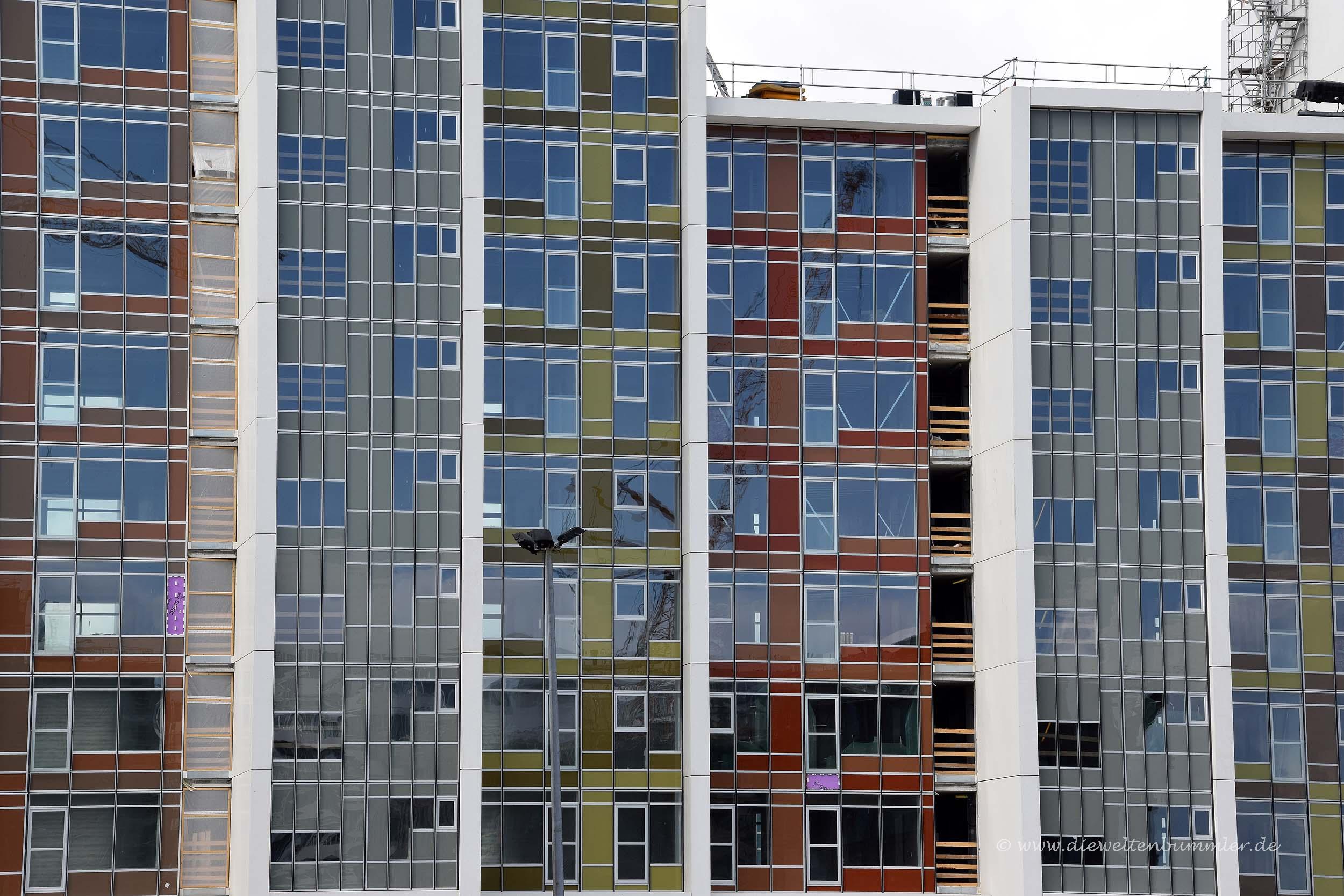 Wohnviertel am Hafen