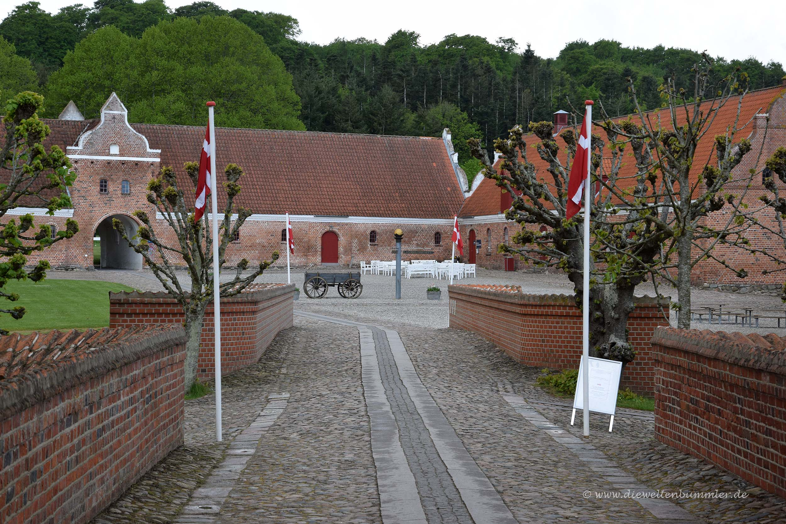 Gammel Estrup nördlich von Aarhus