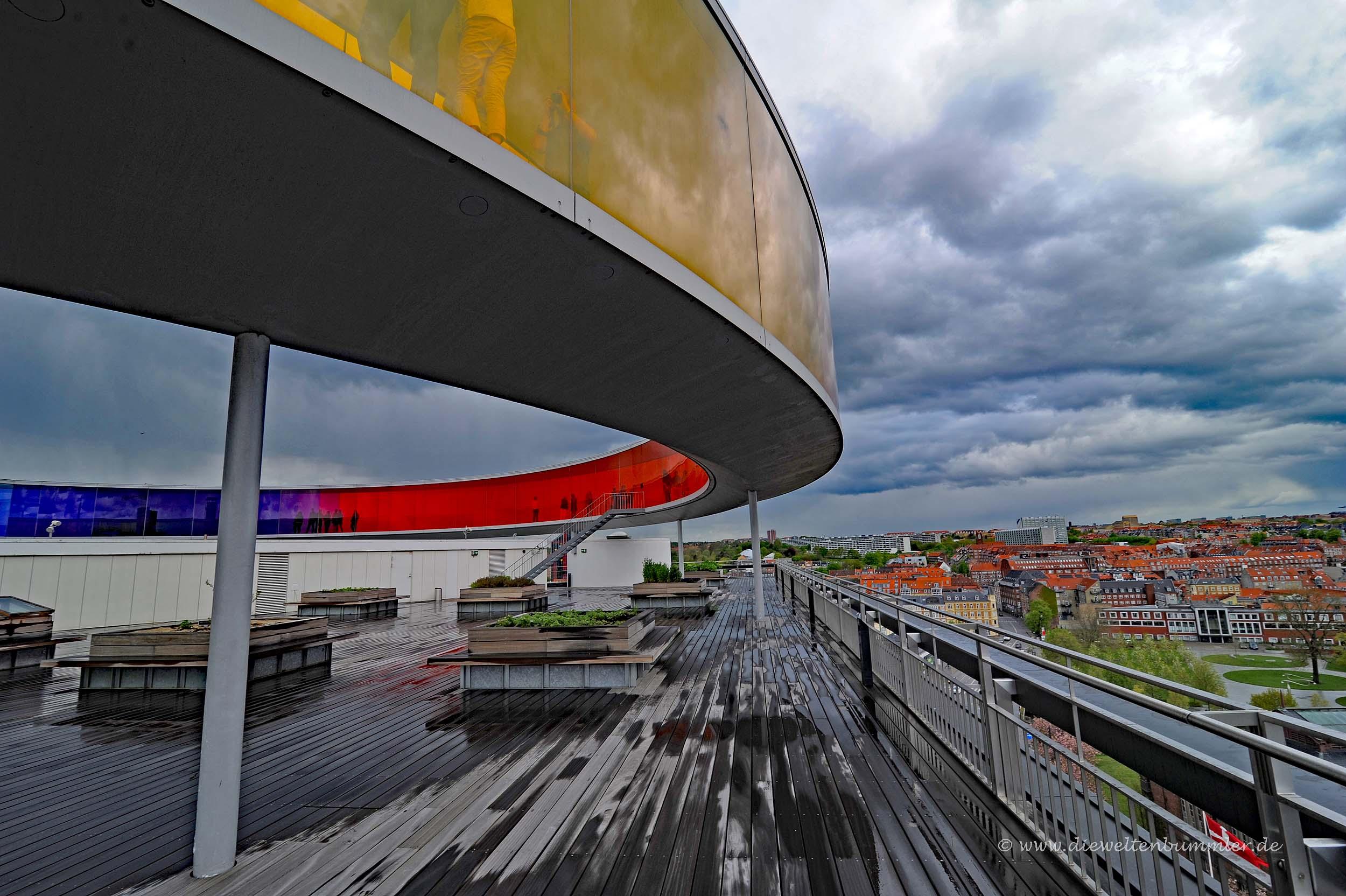 Ausblick über Aarhus