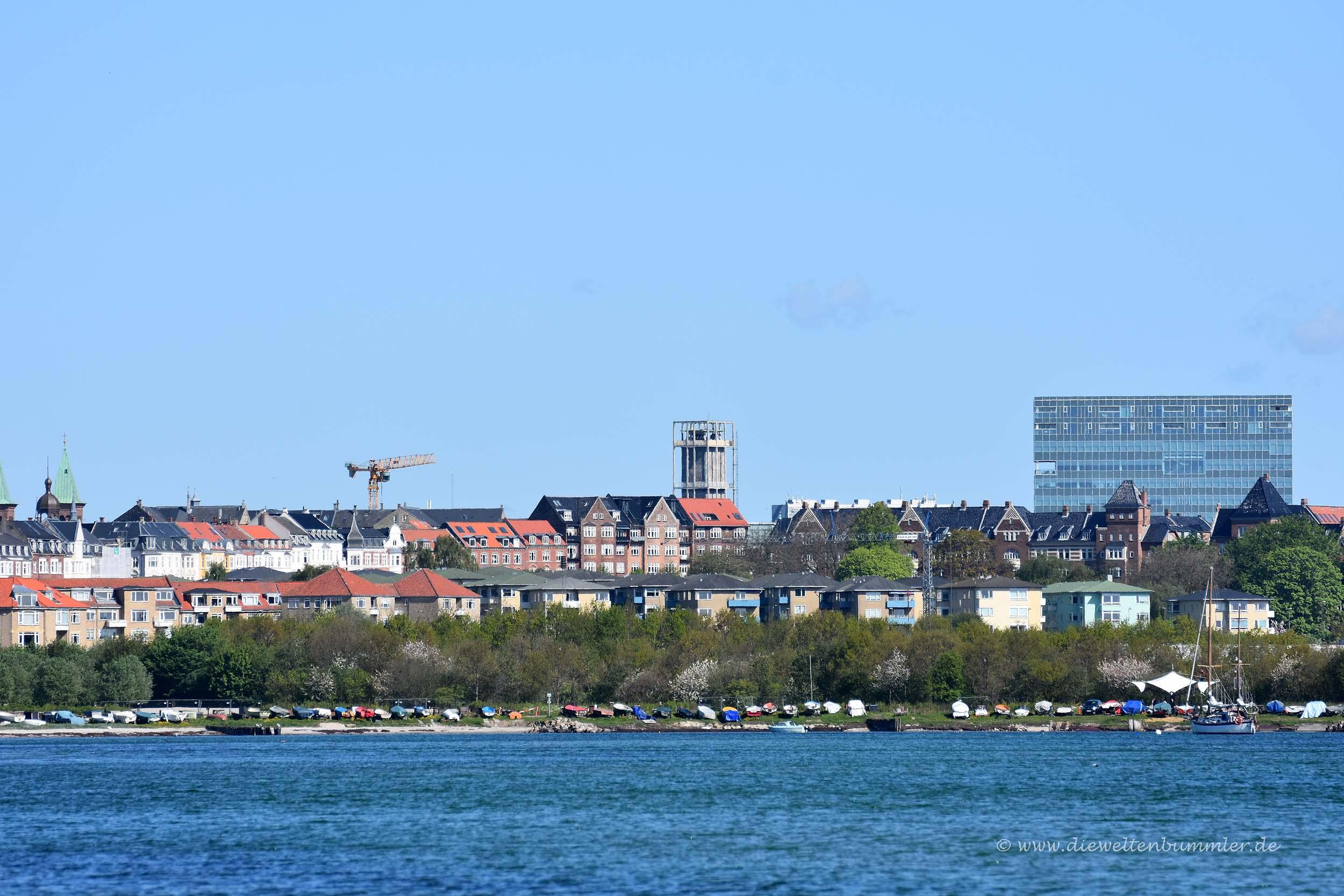 Blick nach Aarhus