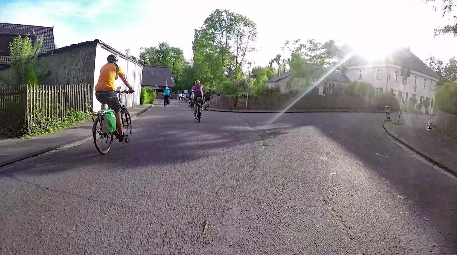 Radtour rund um das Ruhrgebiet