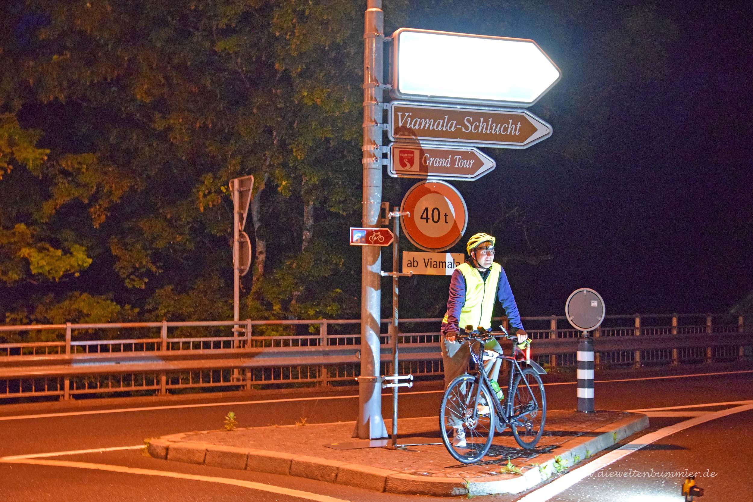 Erster Stopp in Thusis