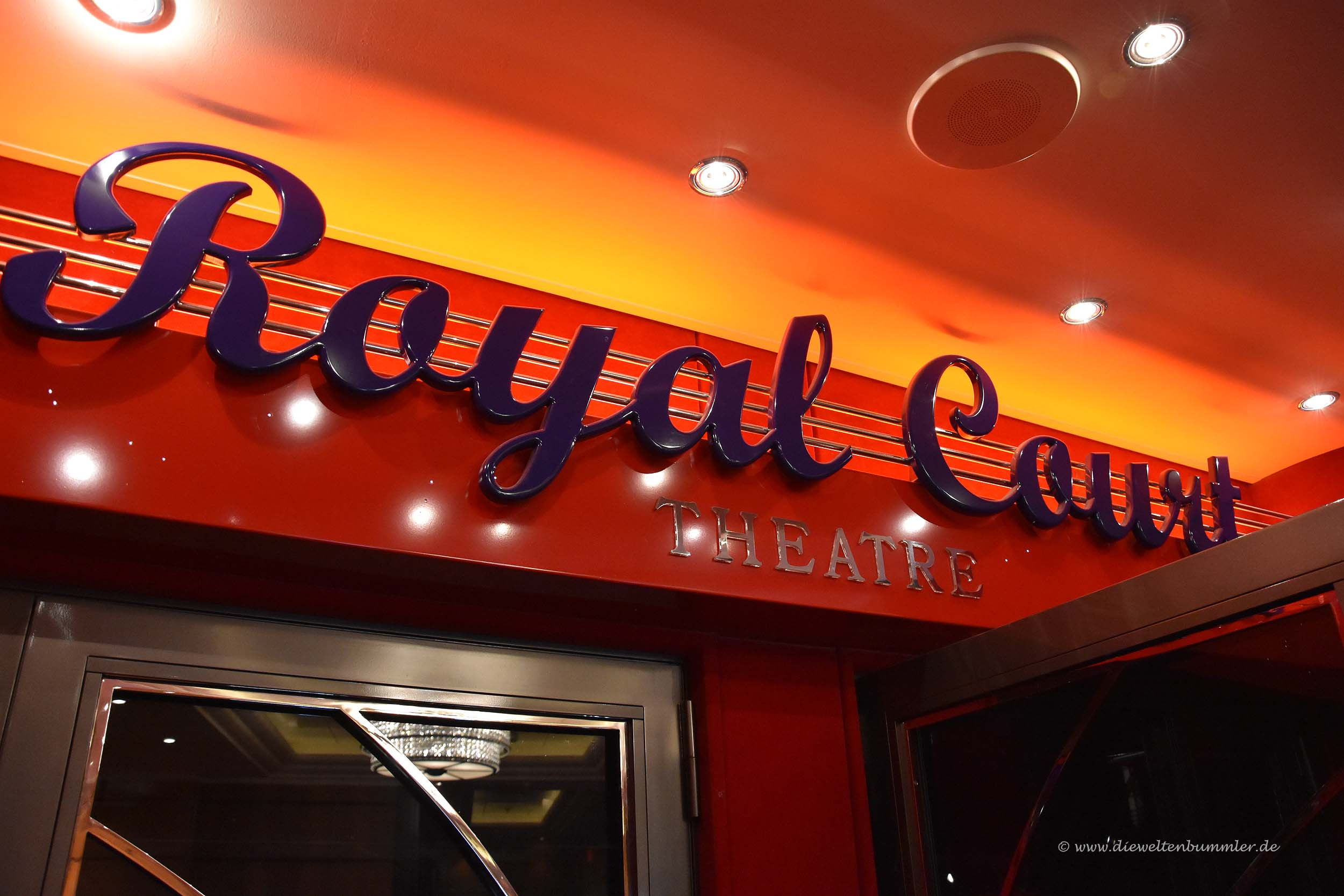 Eingang zum Royal Court Theatre