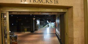 Zugang zu den Gleisen