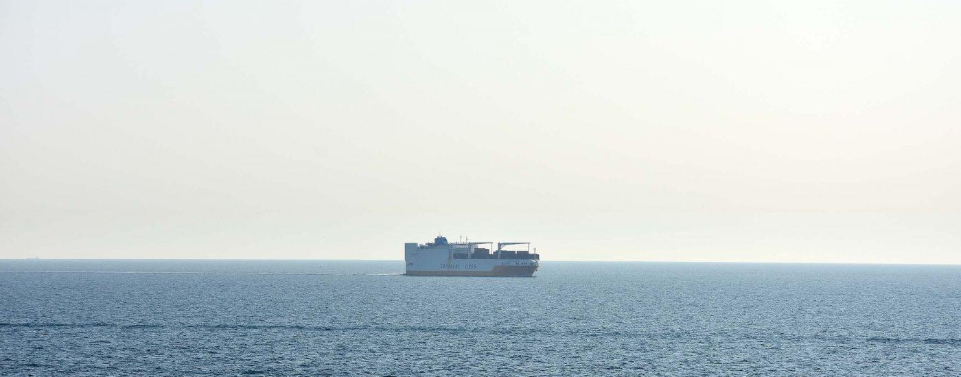 Grimaldi-Frachtschiff