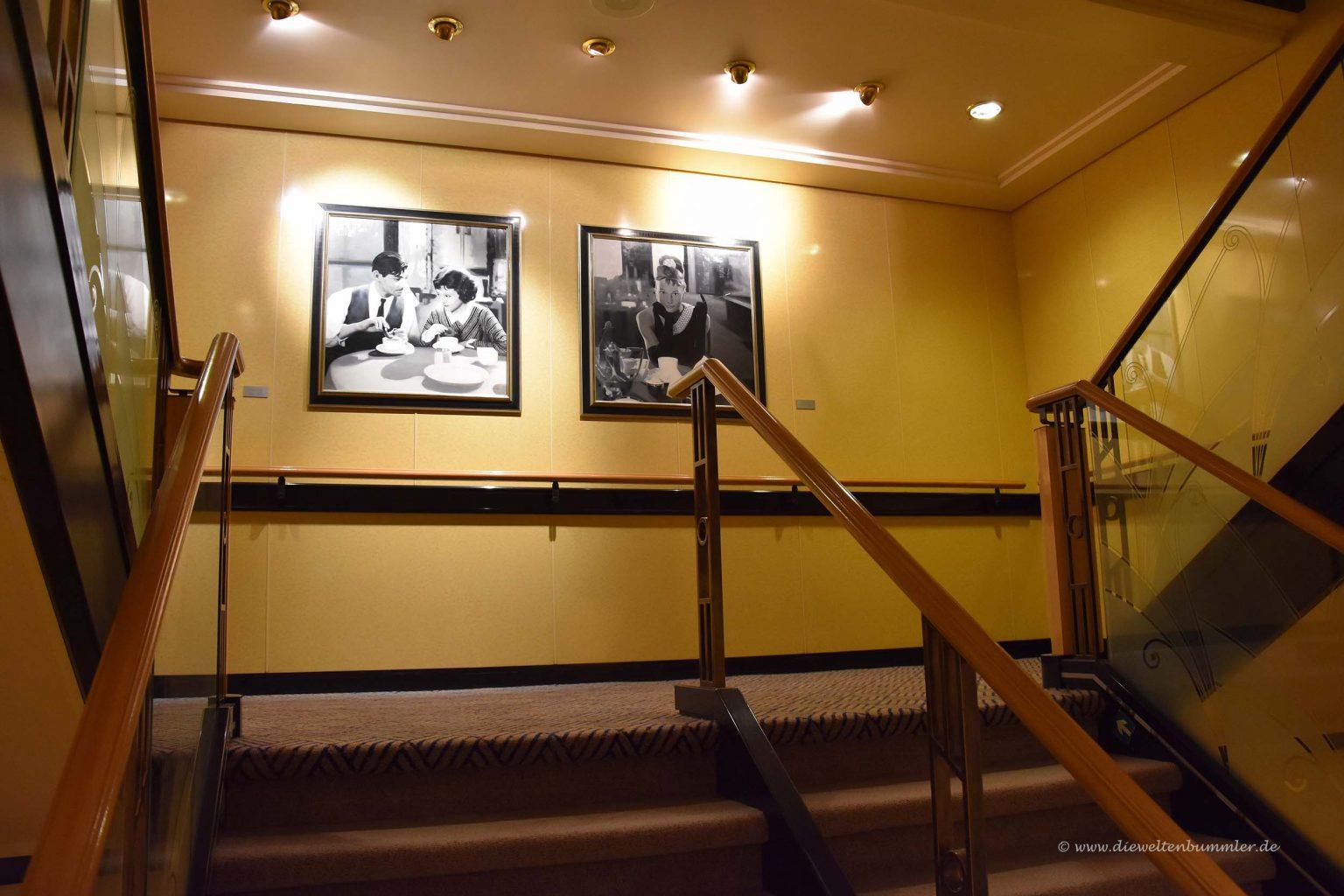Eines von vier Treppenhäusern