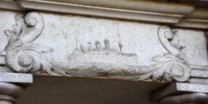 Erinnerung an das Unglück der Titanic