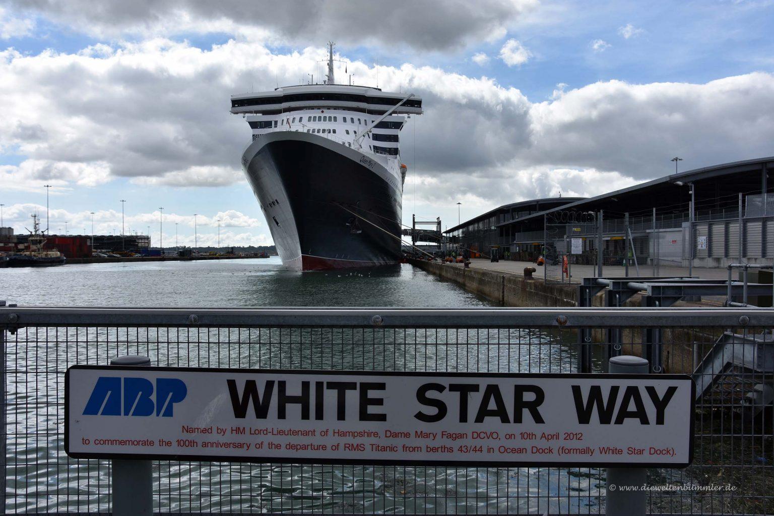 Hier legte auch die Titanic ab