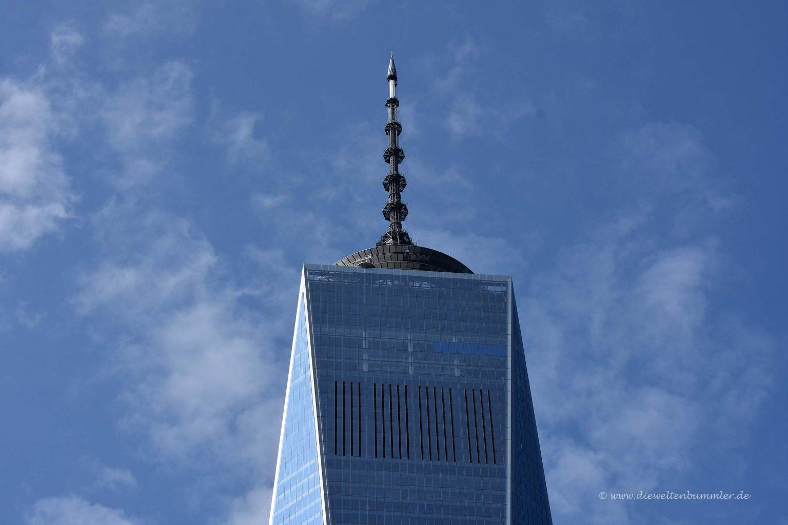 Spitze des World Trade Center