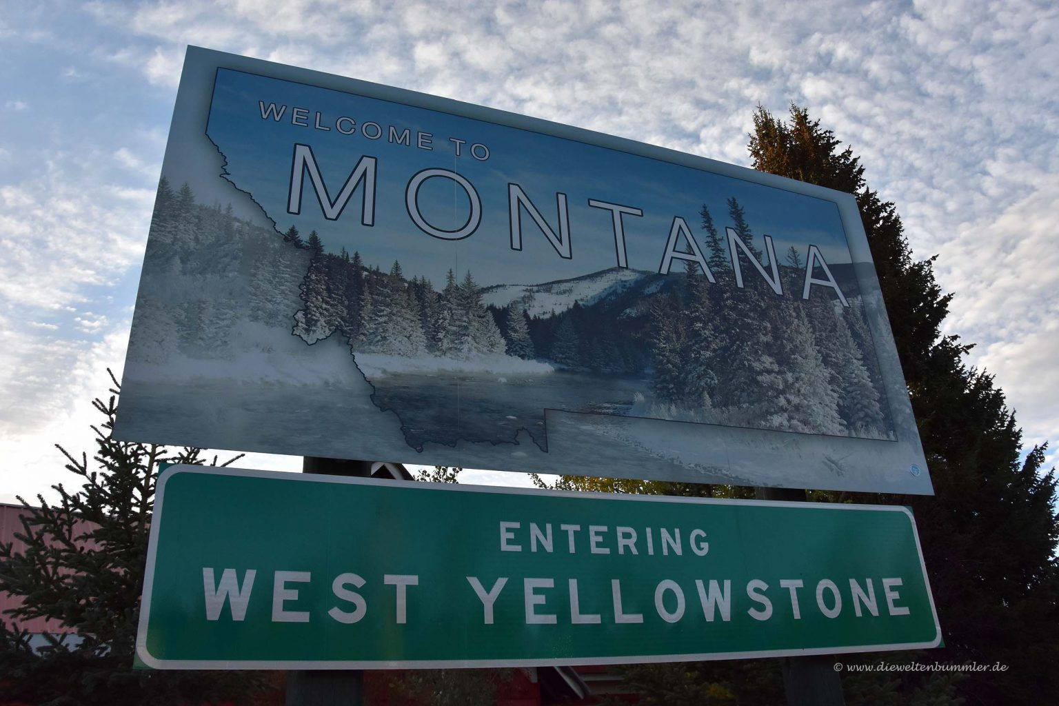 Montana und der Yellowstone Nationalpark