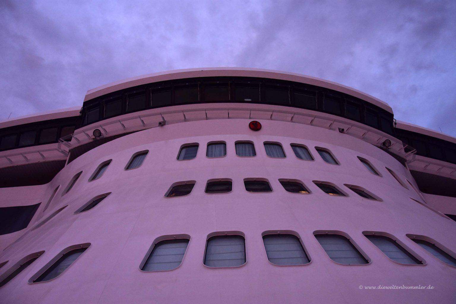 Fassade des Schiffes