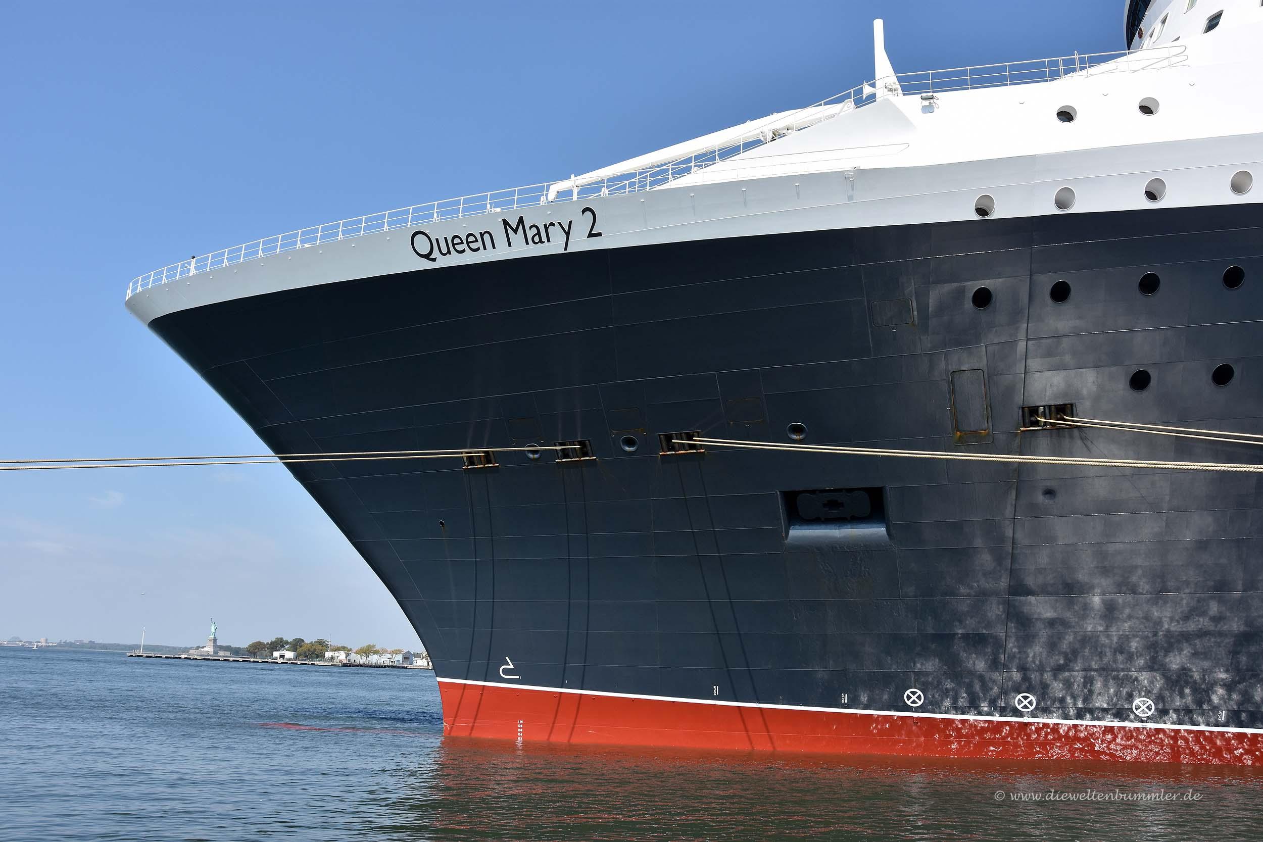 Queen Mary und die Freiheitsstatue