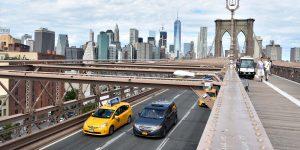 Blick von der Brooklyn Bridge