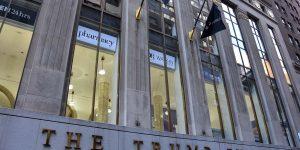 Trump Building an der Wall Street