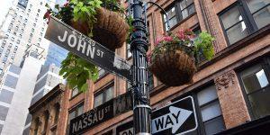 Kreuzung in New York